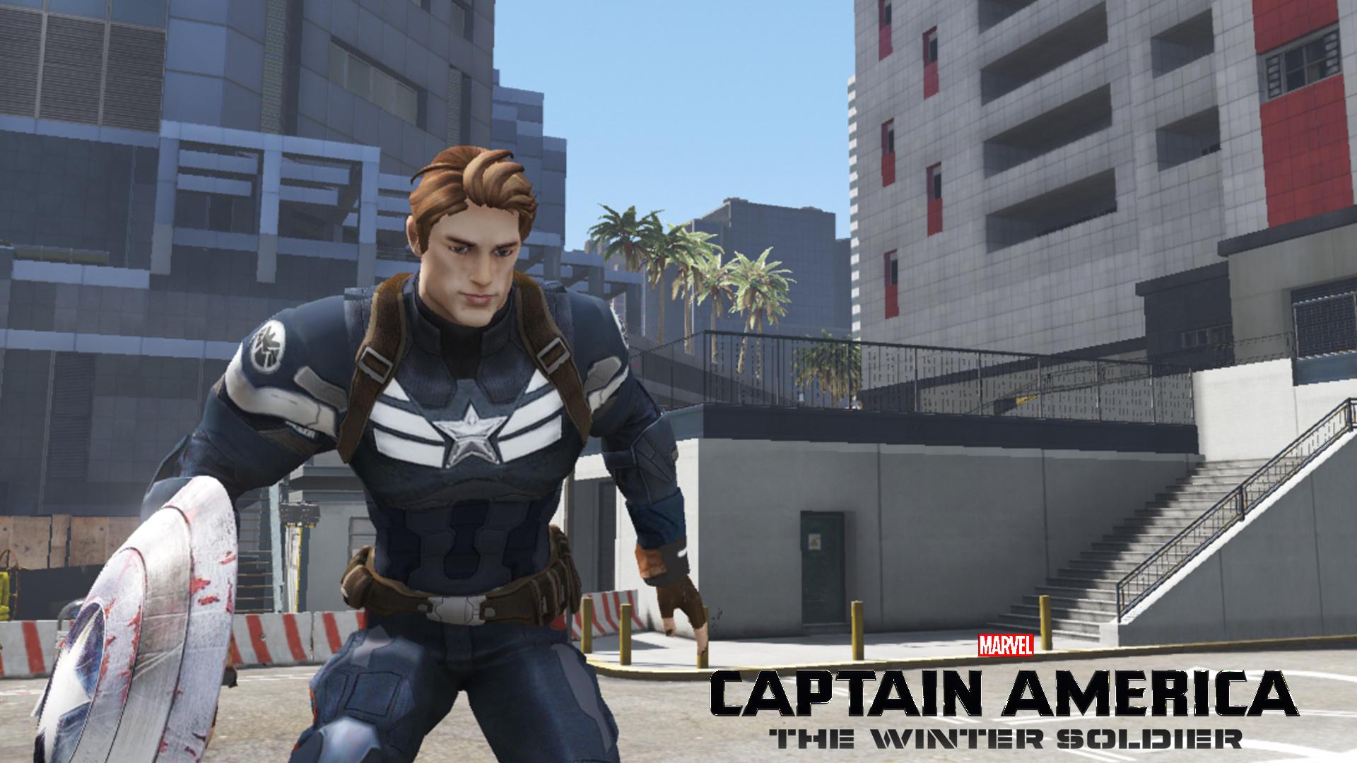 Captain America (Civil War & Winter Soldier) - GTA5-Mods com
