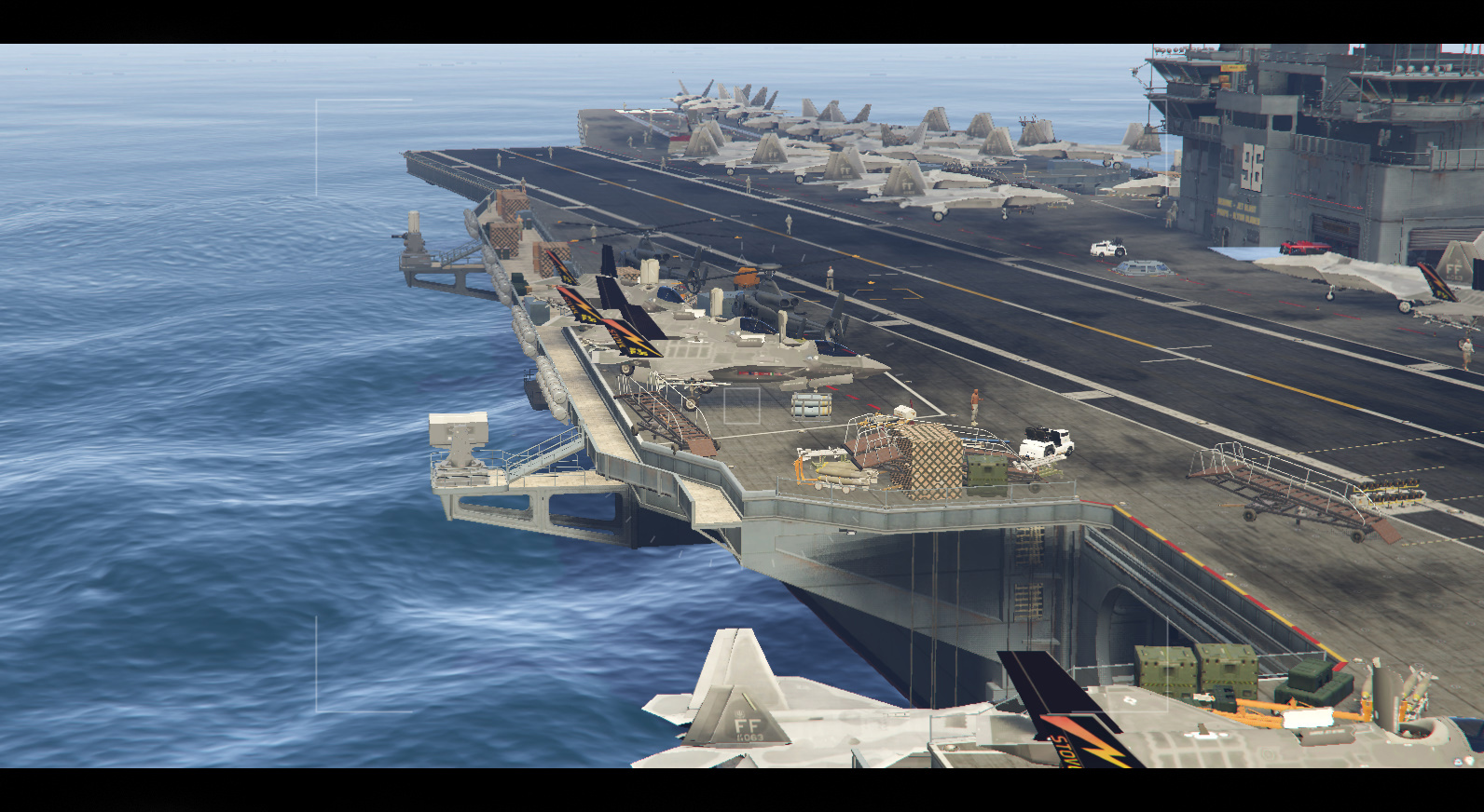 US Navy Carrier General Ford Map Editor GTAModscom - Us map editor
