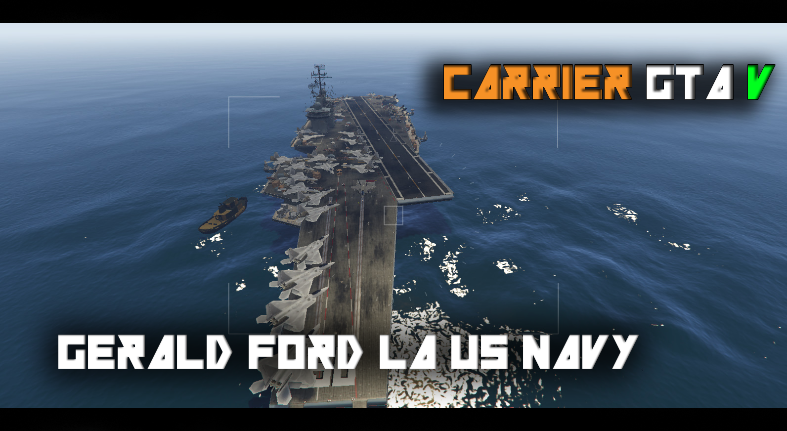 US Navy Carrier General Ford Map Editor GTAModscom - Us navy ship map