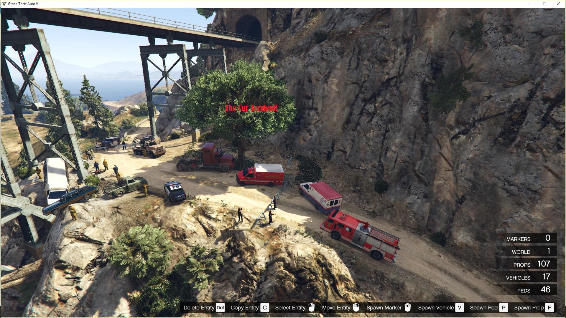 Invasion Car Show >> Cassidy Creek Accident - GTA5-Mods.com