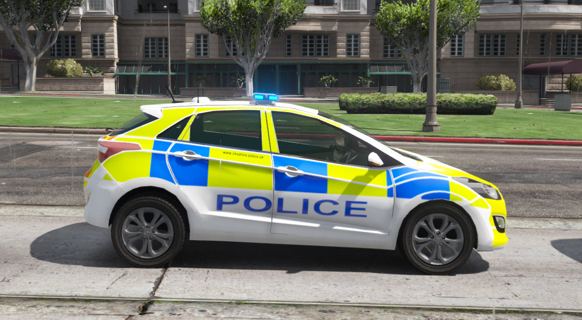 cheshire police hyundai i30 skin only gta5. Black Bedroom Furniture Sets. Home Design Ideas