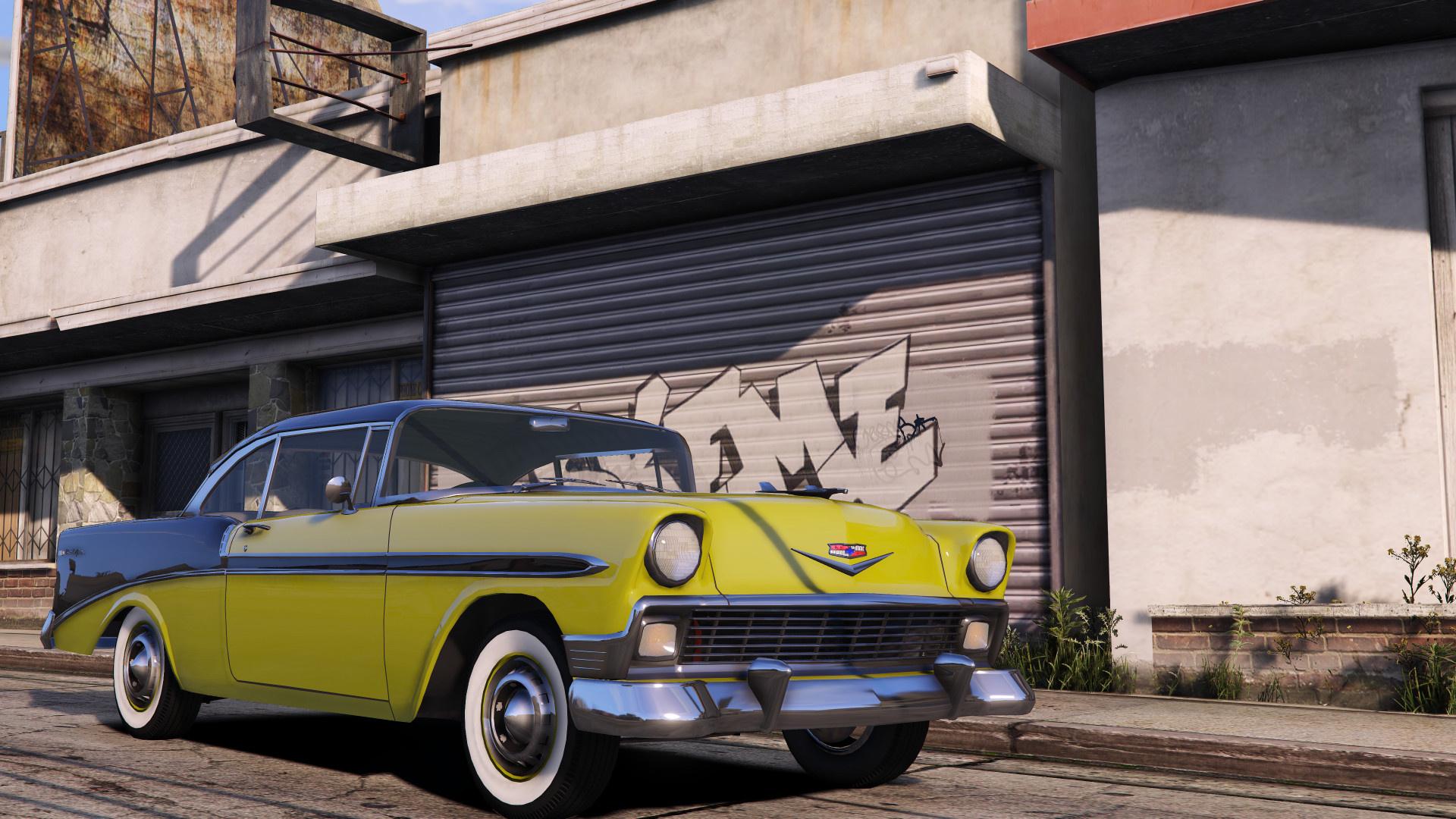 1956 Chevrolet Bel Air Nomad Add On Lods Gta5 Mods Com