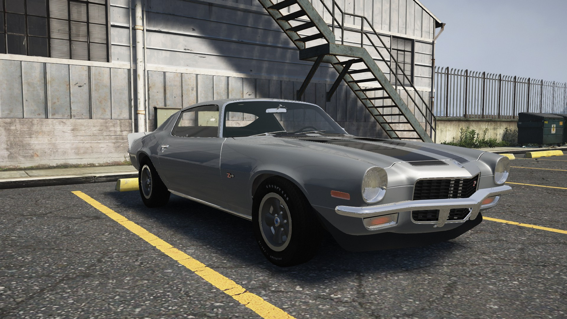 Chevrolet Camaro Z28 1970 Add On Tuning Lods Template Gta5