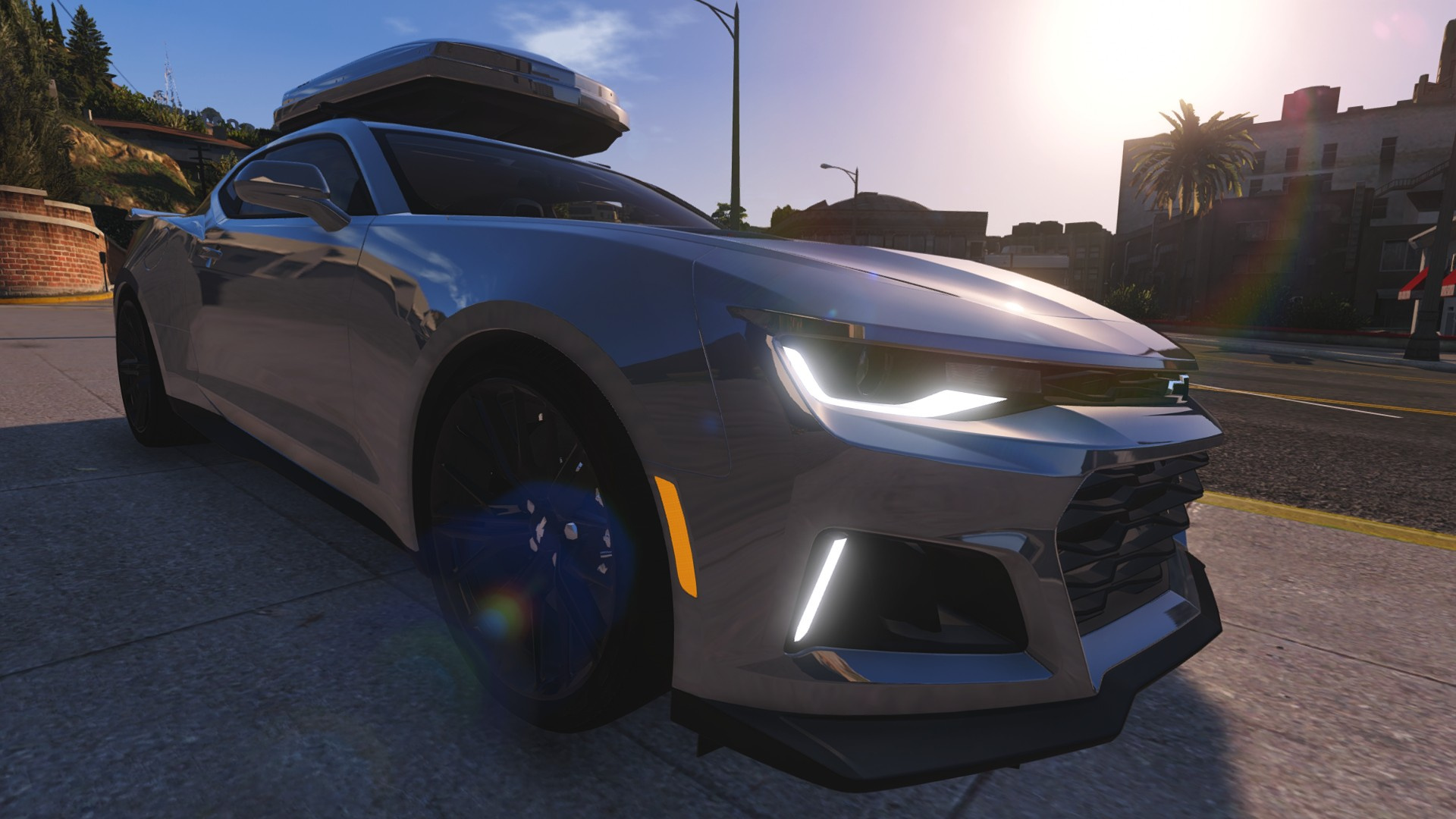 Chevrolet Camaro 2017 ZL1 [Add Animated] GTA5 Mods