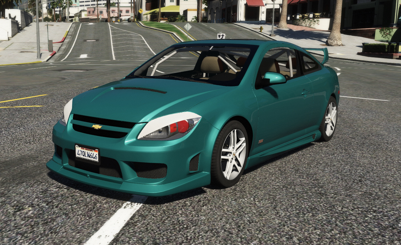 Chevrolet Cobalt Ss Add On Tuning Template Lods Gta5 Mods Com