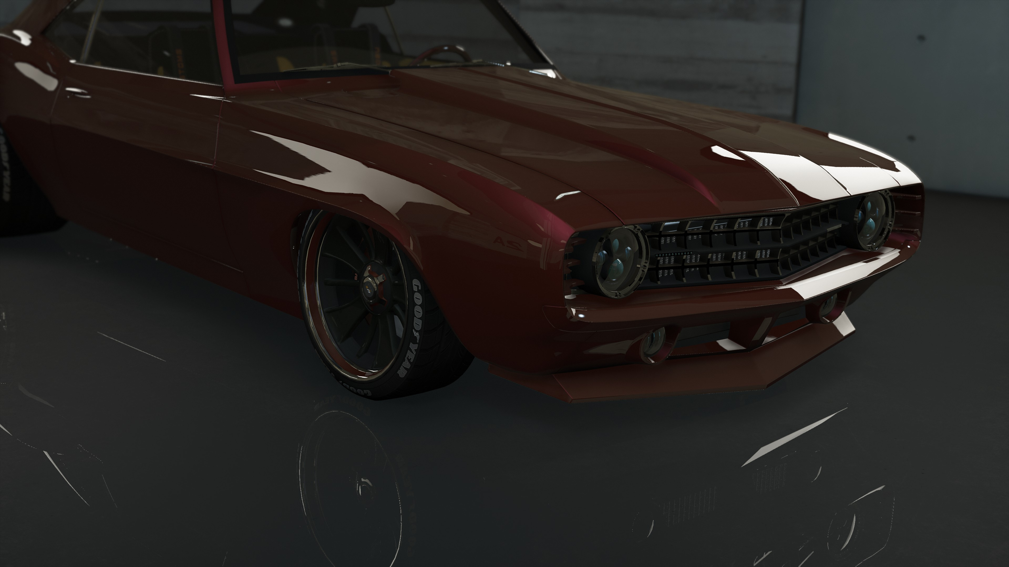 Chevrolet HS Customs 1969 Camaro [Add-On | OIV | Animated