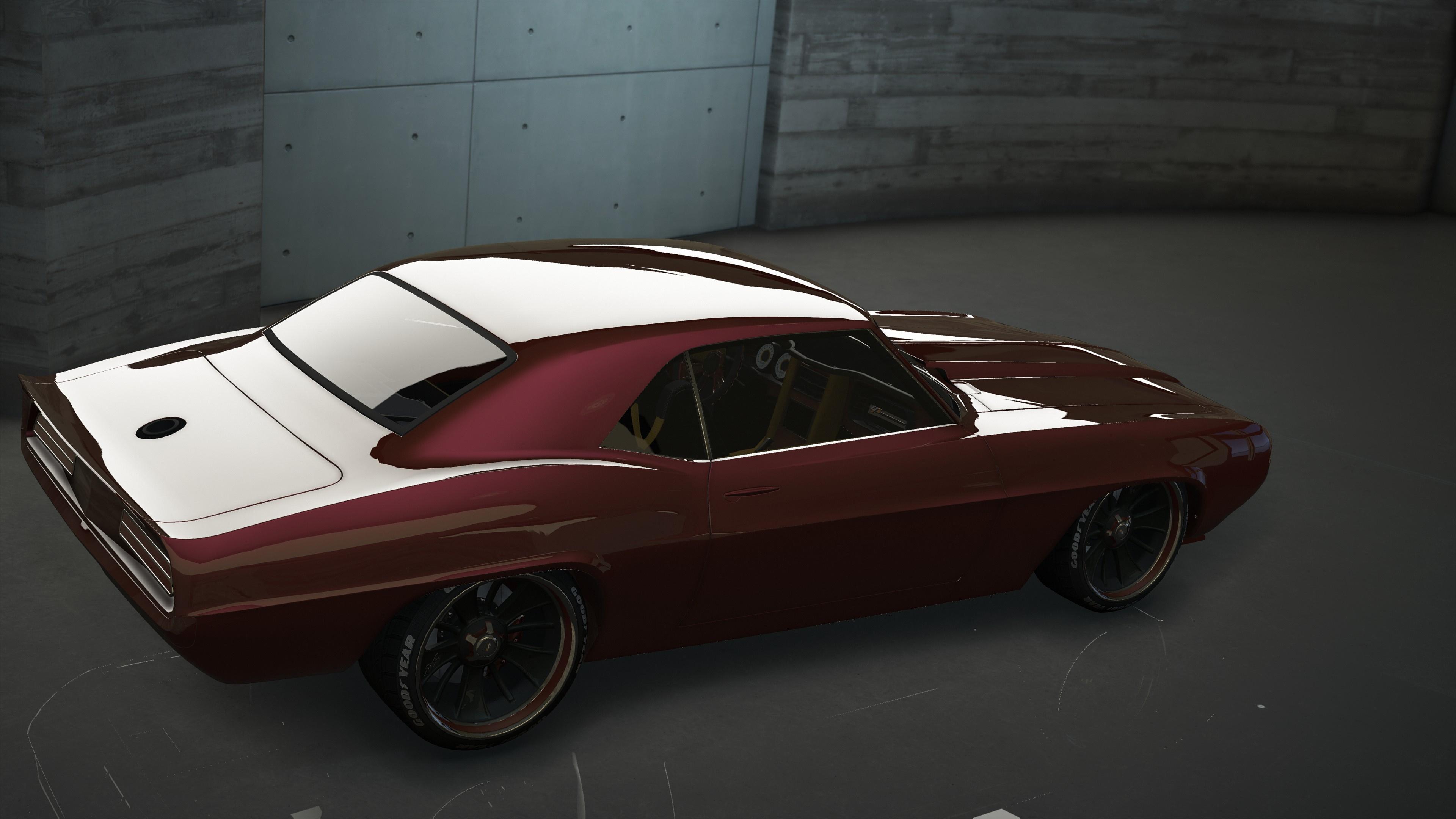 Chevrolet HS Customs 1969 Camaro [Add-On | OIV | Animated