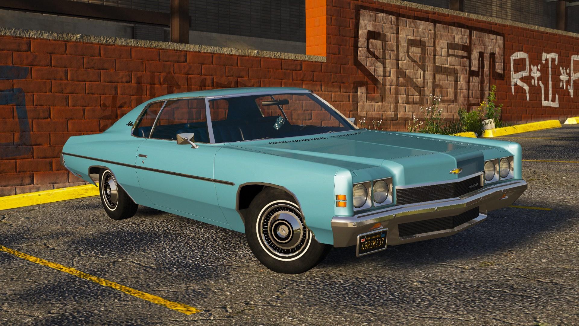 1972 Chevrolet Impala [Add-On | LODs | Extras] - GTA5-Mods com