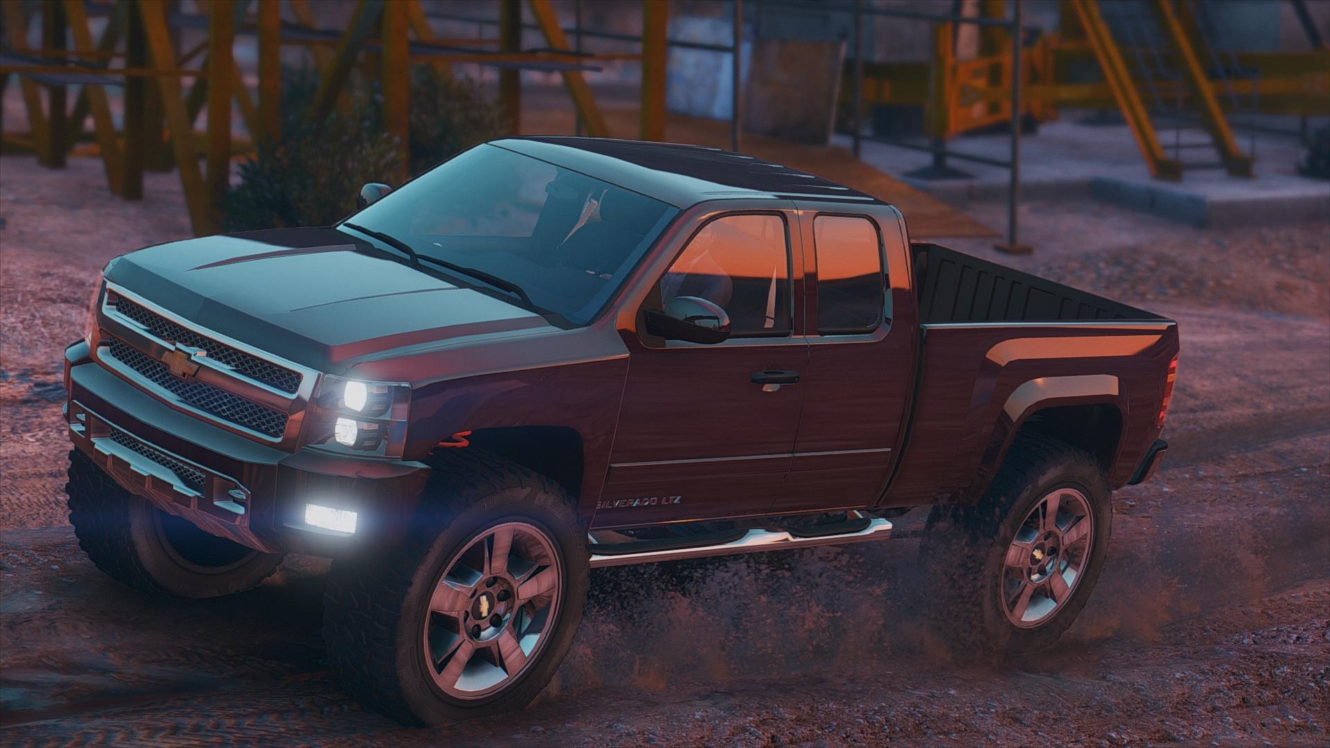 Chevrolet Silverado 1500 Ltz Add On Tuning Gta5 Mods Com