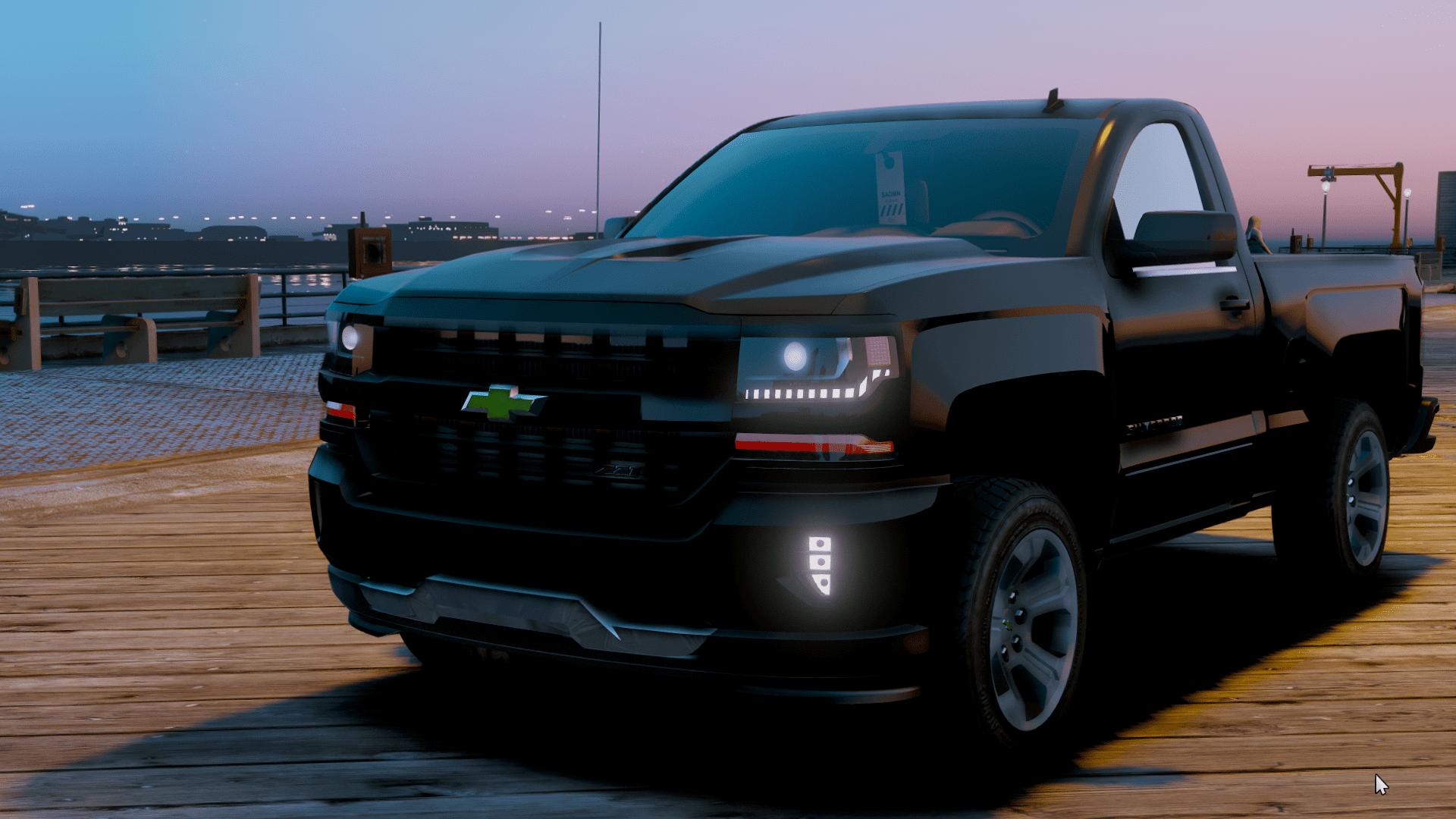 Chevrolet Silverado 2018 Single Cab - GTA5-Mods.com