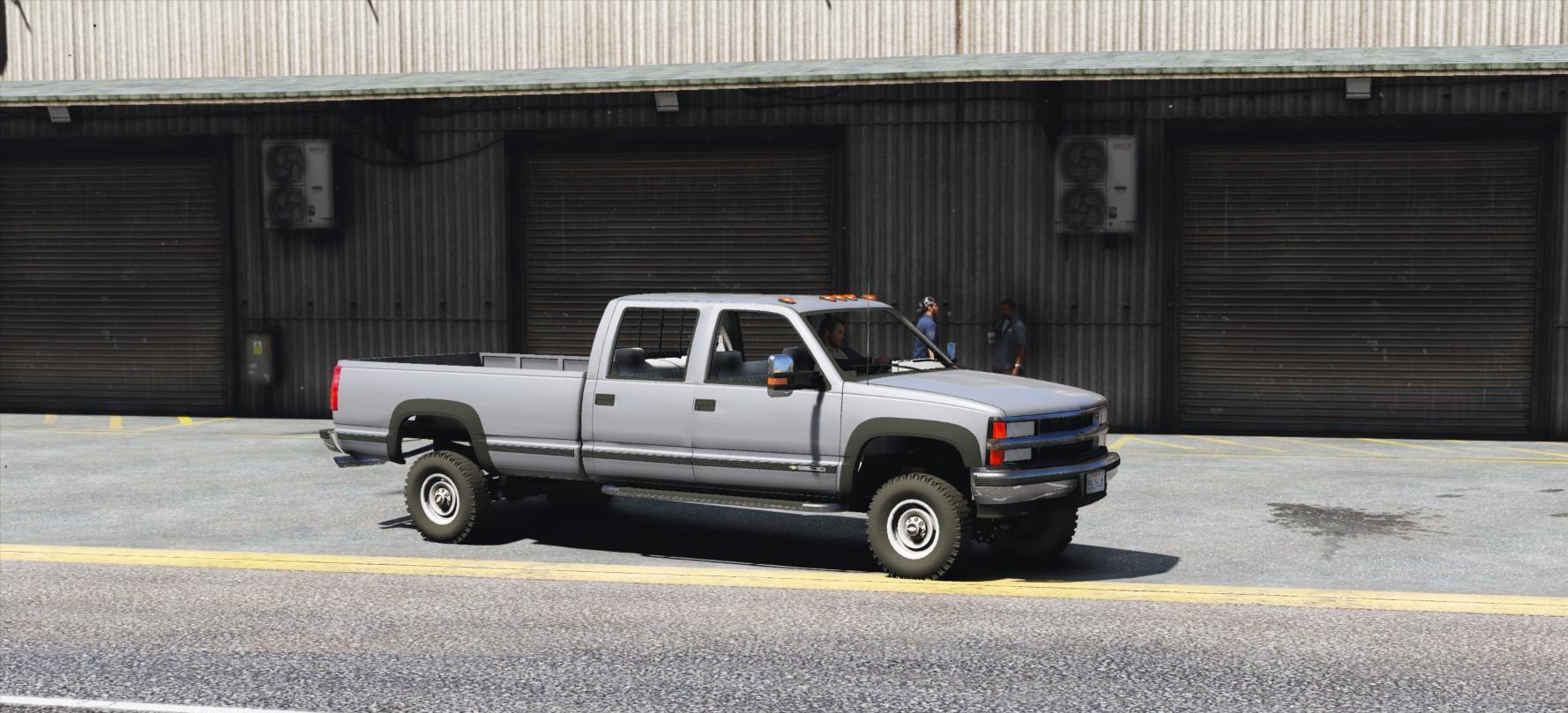 Silverado 99 chevrolet silverado : Chevrolet Silverado 3500 LS Crew Cab 4x4 1999 [Add-On   Replace ...