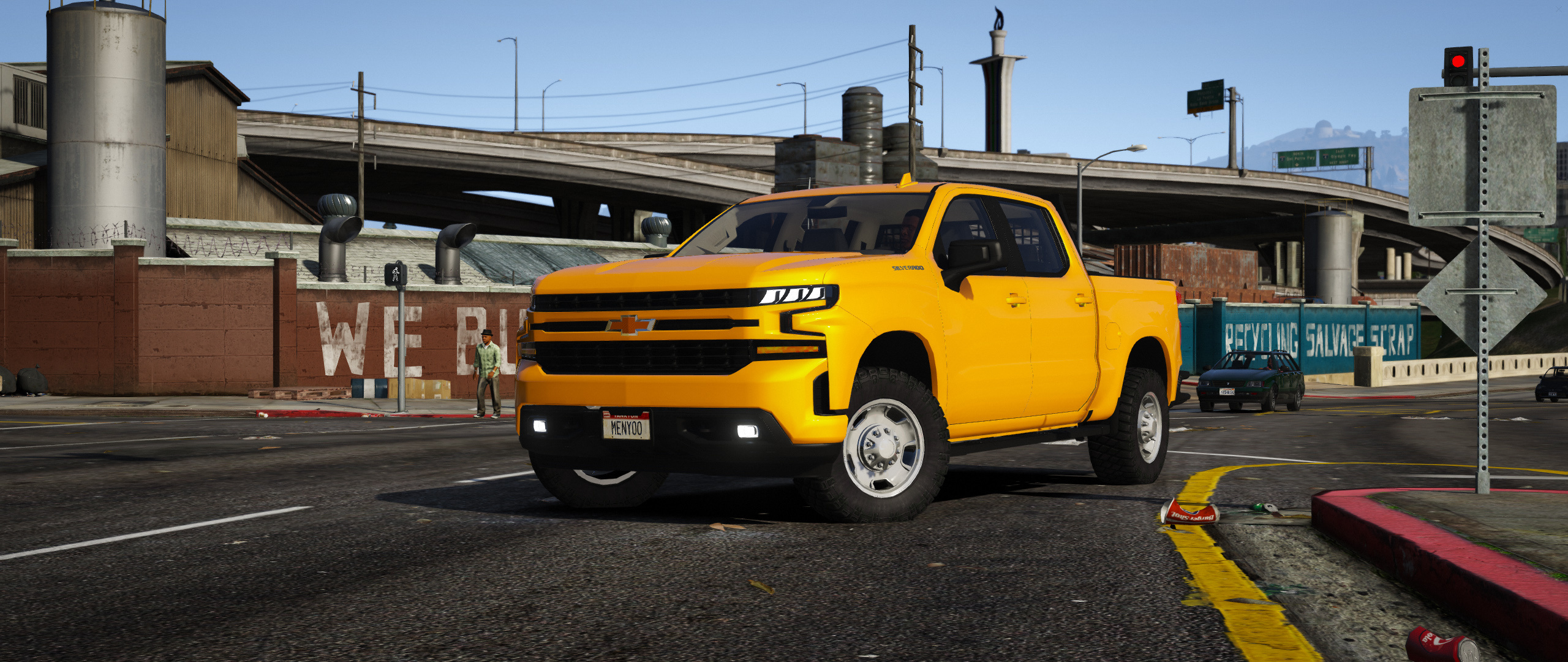 Chevrolet Silverado LT 2019 [Replace Extras] - GTA5-Mods com