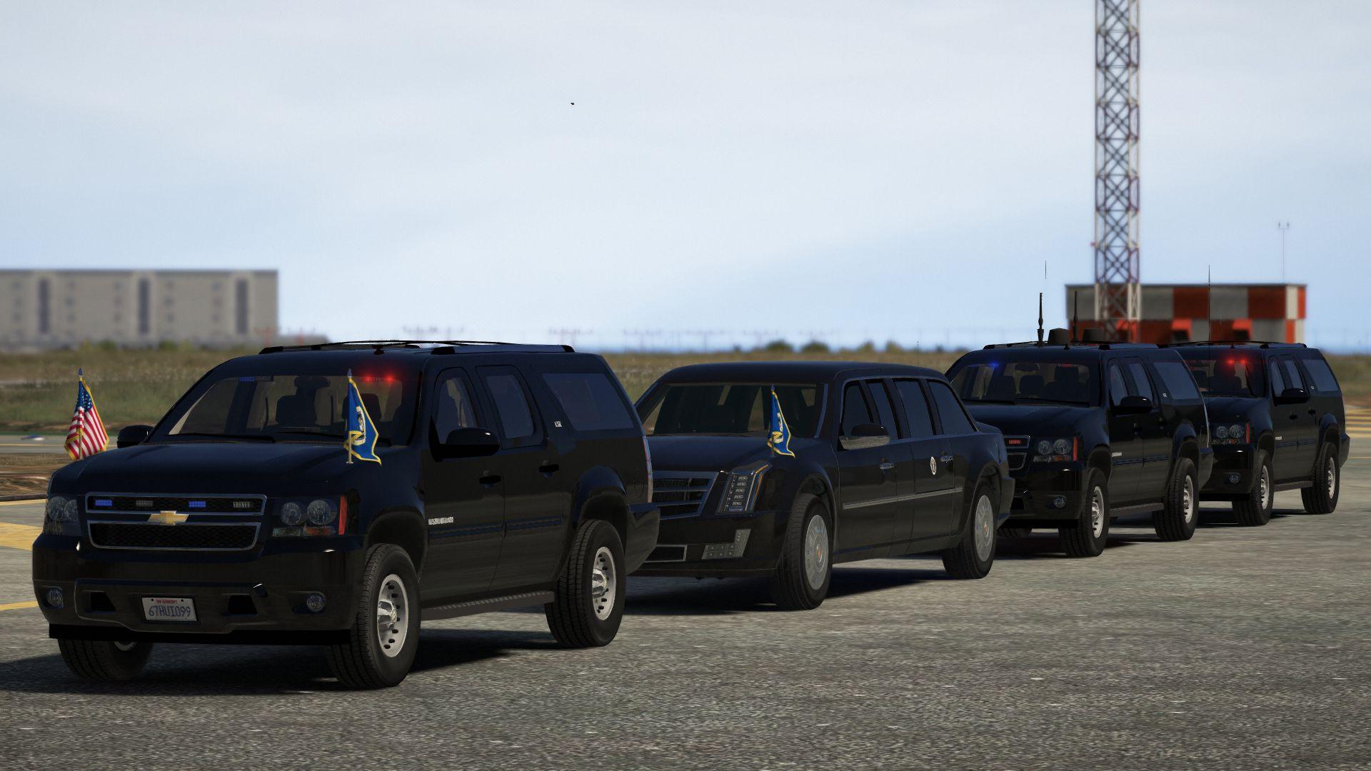 Chevrolet Suburban Secret Service [Add-On