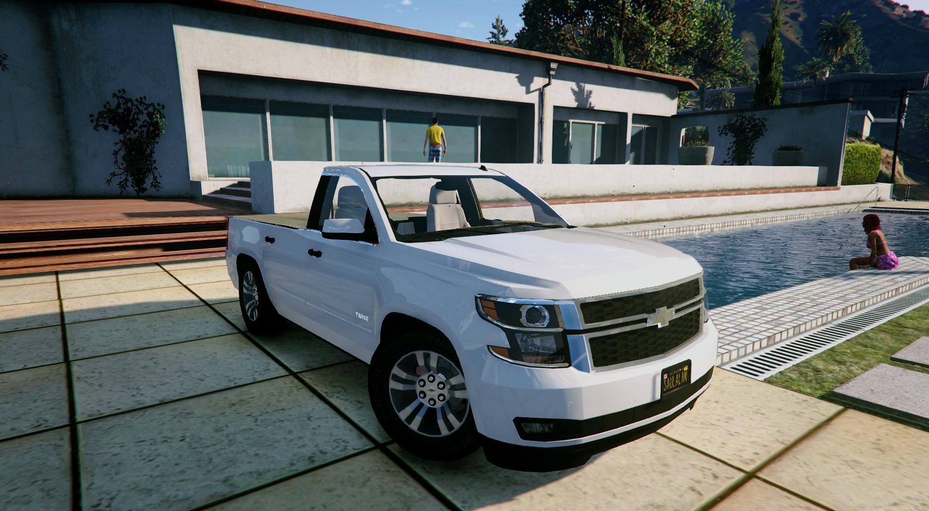 chevrolet tahoe sport truck extras unlocked gta5. Black Bedroom Furniture Sets. Home Design Ideas