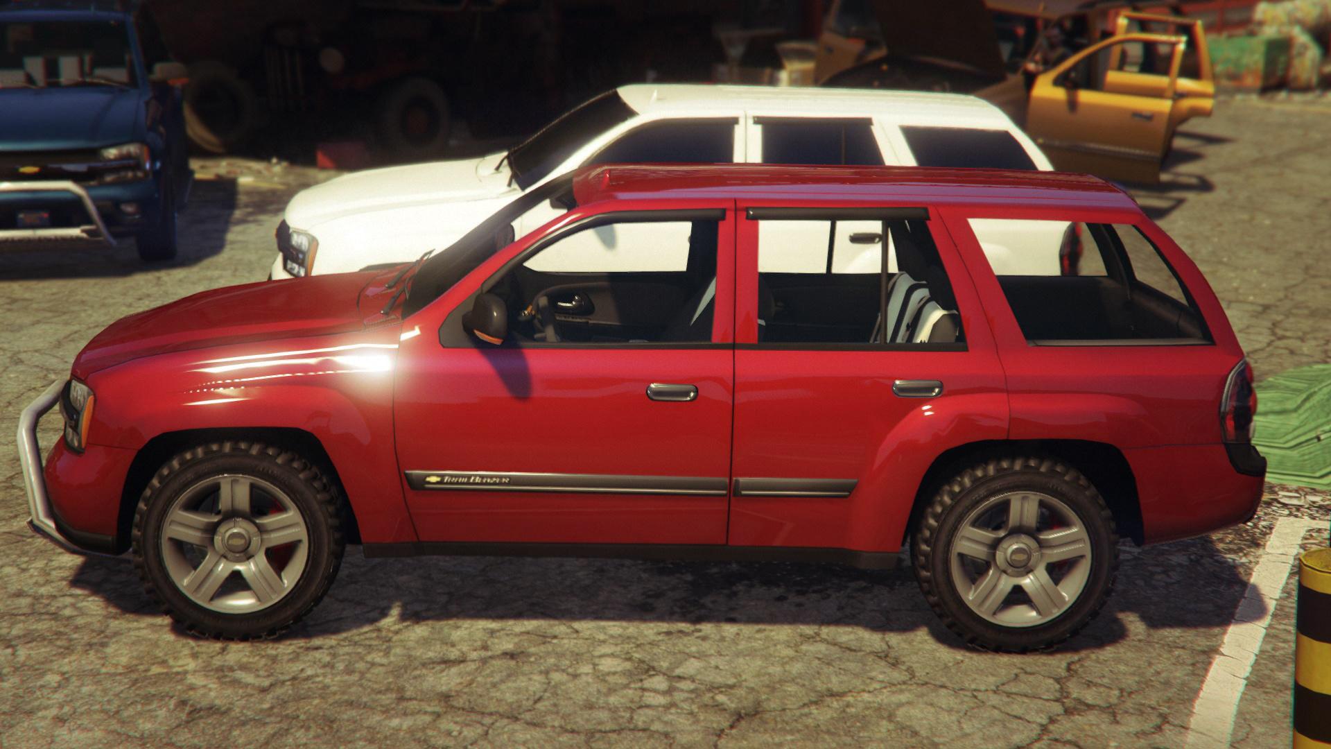 Chevrolet TrailBlazer GTA5 Mods