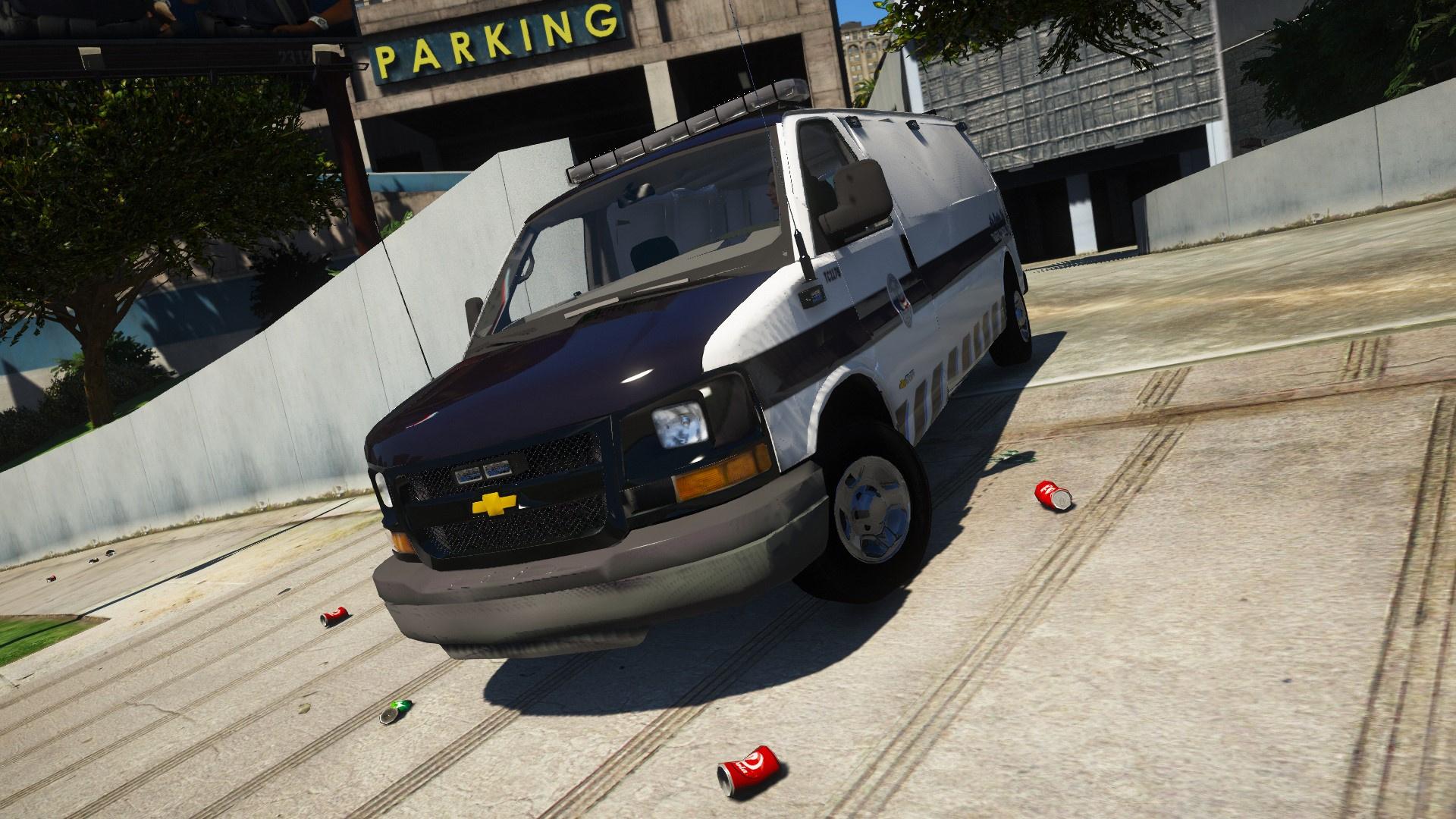 Chevy Express Van Coroner/Prisoner/Unmarked/ [NON ELS] [FIVE