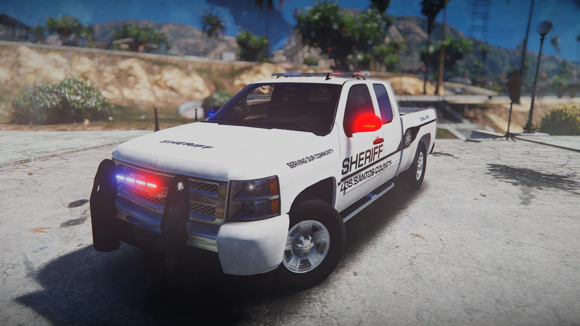 Chevy Silverado Law Enforcement [Template
