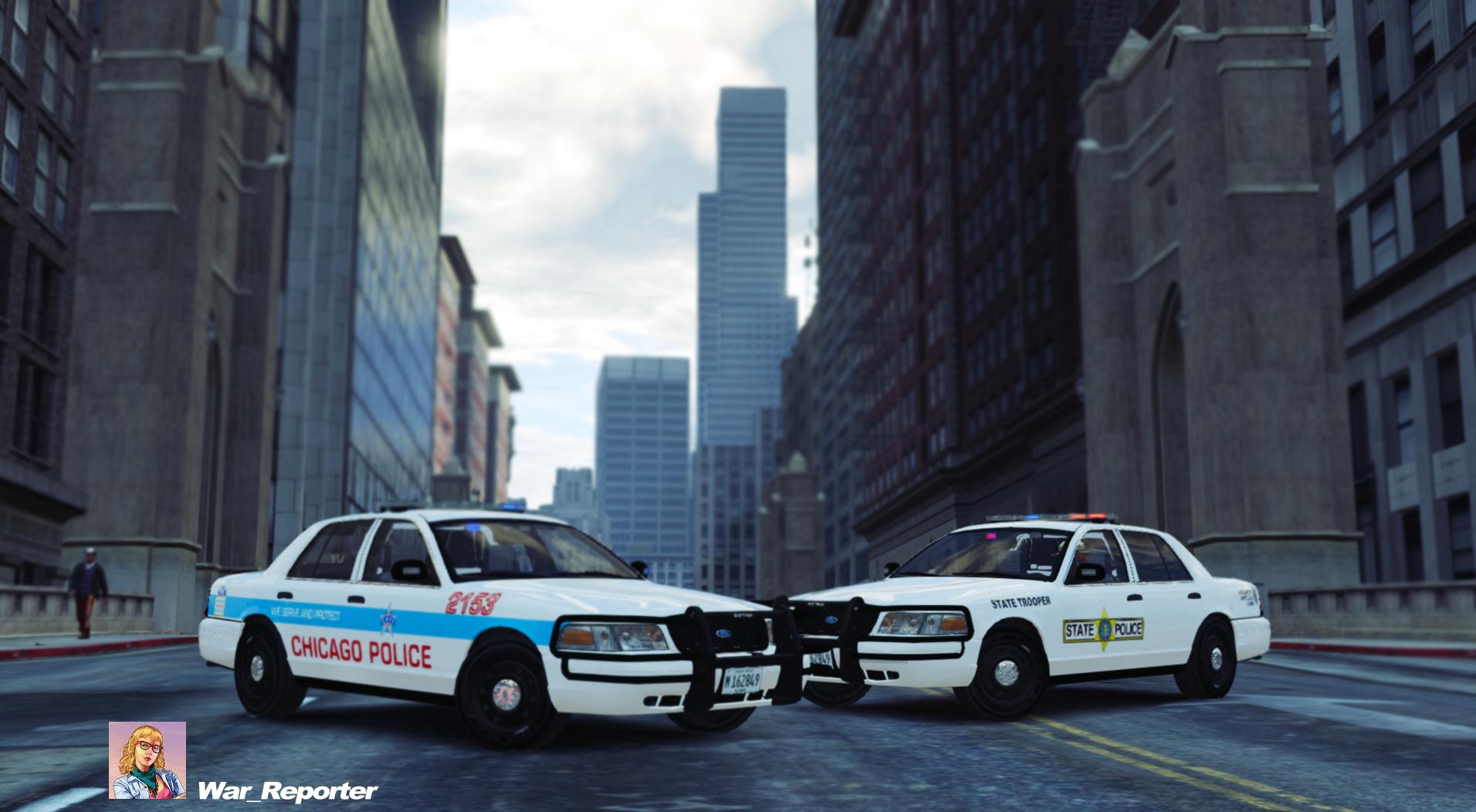 chicago police ford cvpi gta modscom