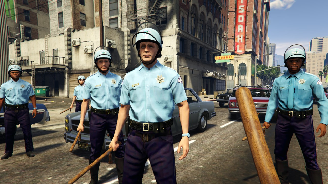 Chicago Riot Police - ...