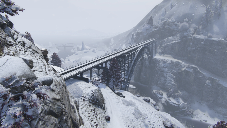 Christmas in Singleplayer (Snow Mod) - GTA5-Mods.com
