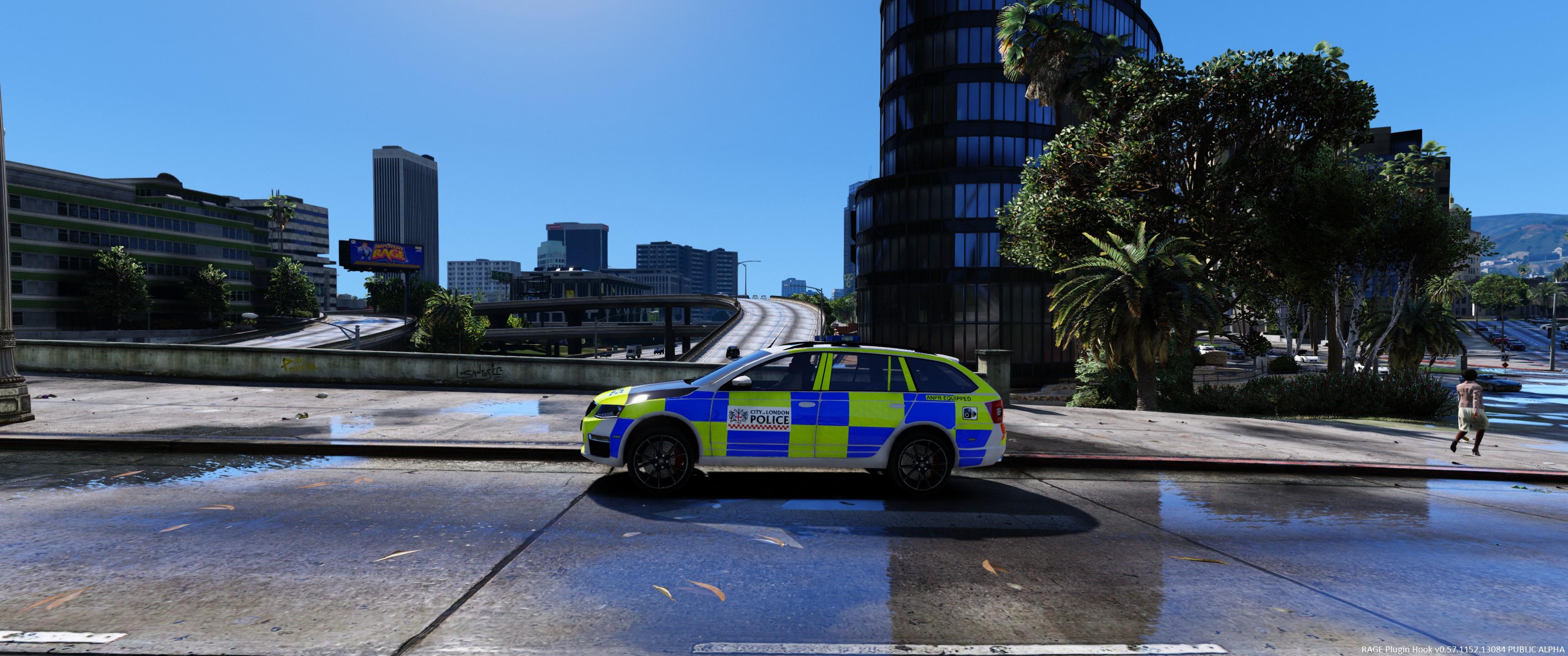 City Of London 4k Skoda Octavia Gta5 Mods Com