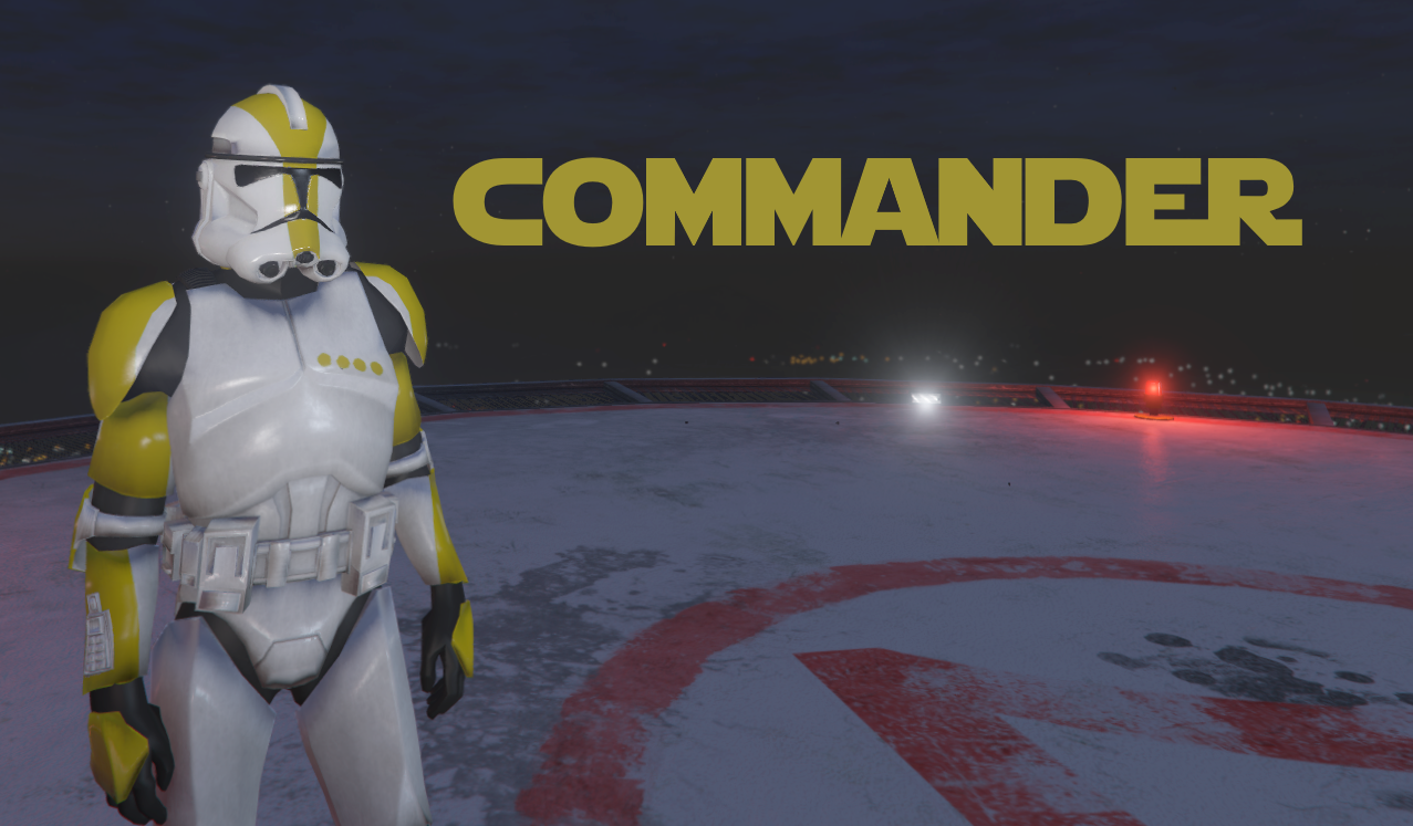 Clone Trooper Colored Ranks Add On Gta5 Modscom