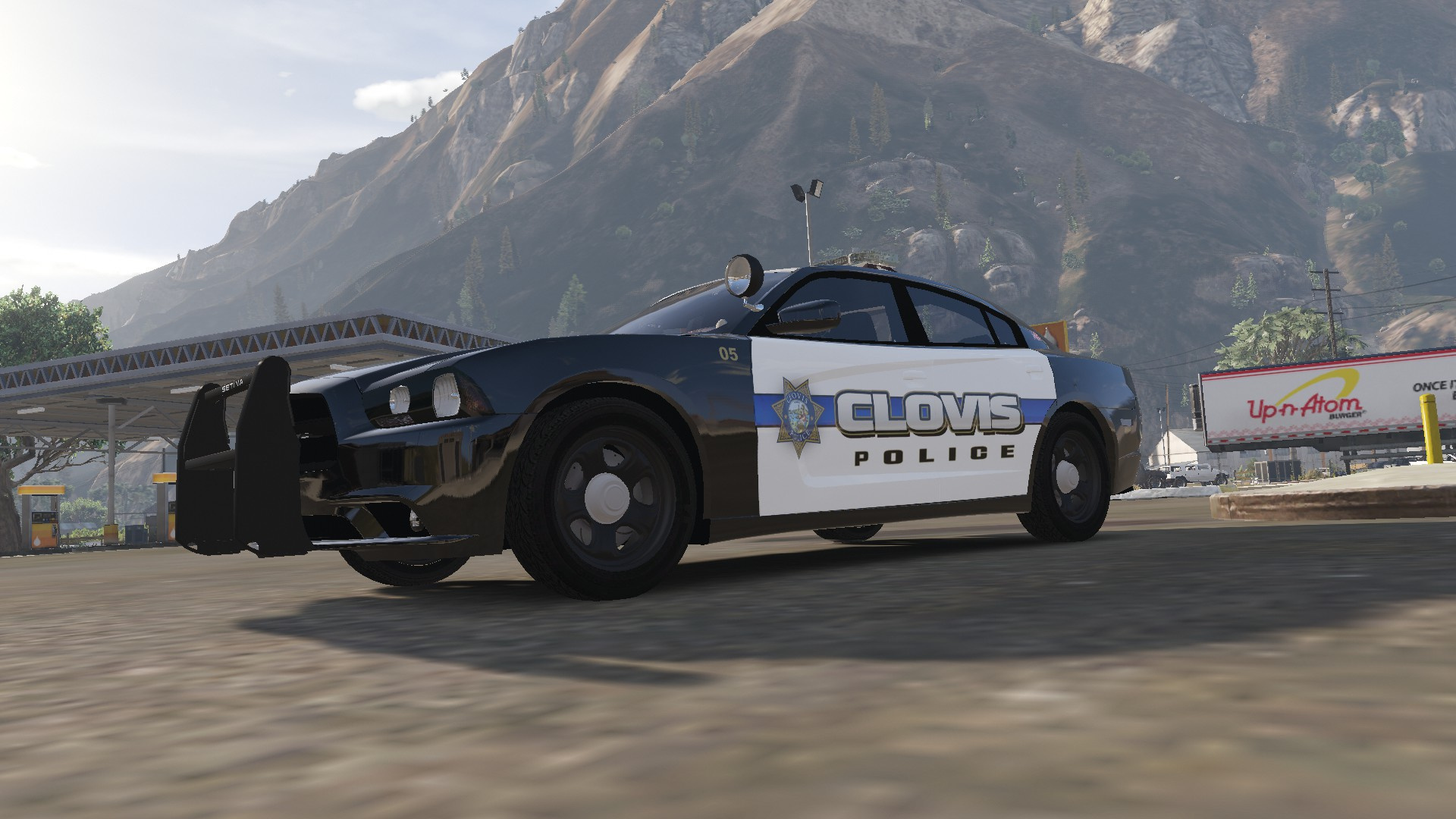 2017 Dodge Charger >> Clovis Police Department Charger Skin - GTA5-Mods.com