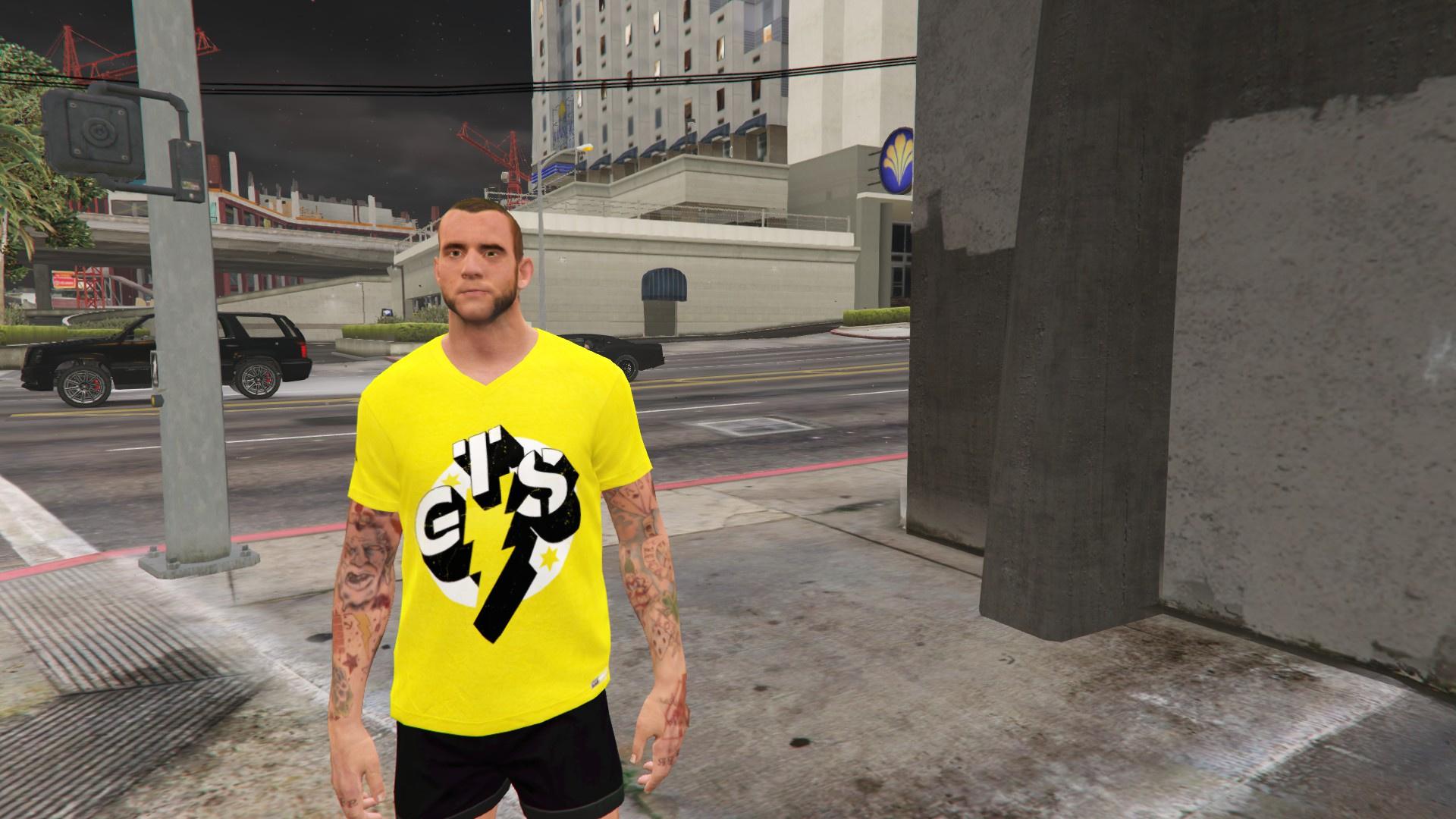 CM Punk (WWE 2K15 Next-Gen) [4K] - GTA5-Mods.com