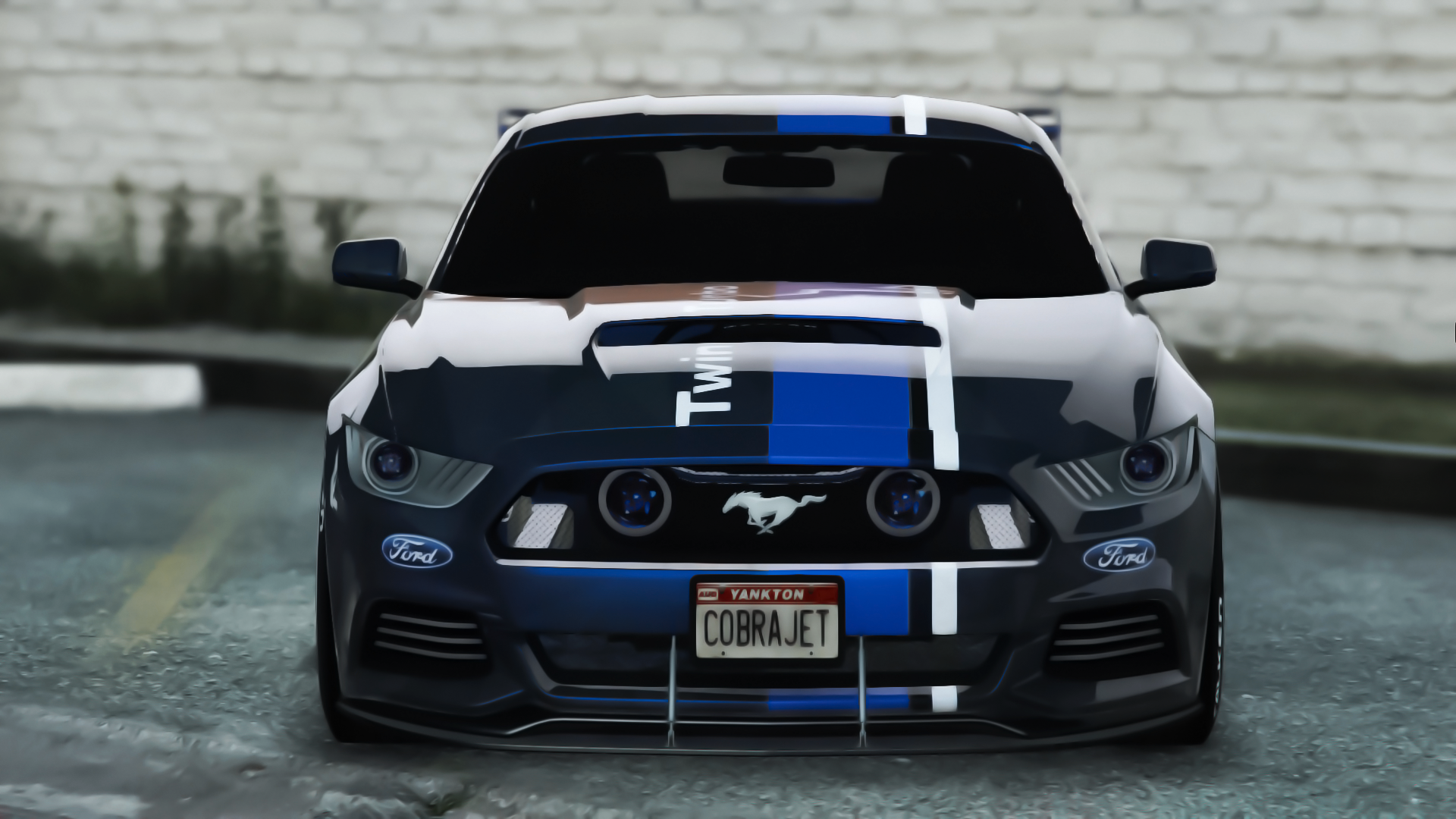 Cobra jet paintjob for mustang gt 2015 gta5 - Mustang cobra ...