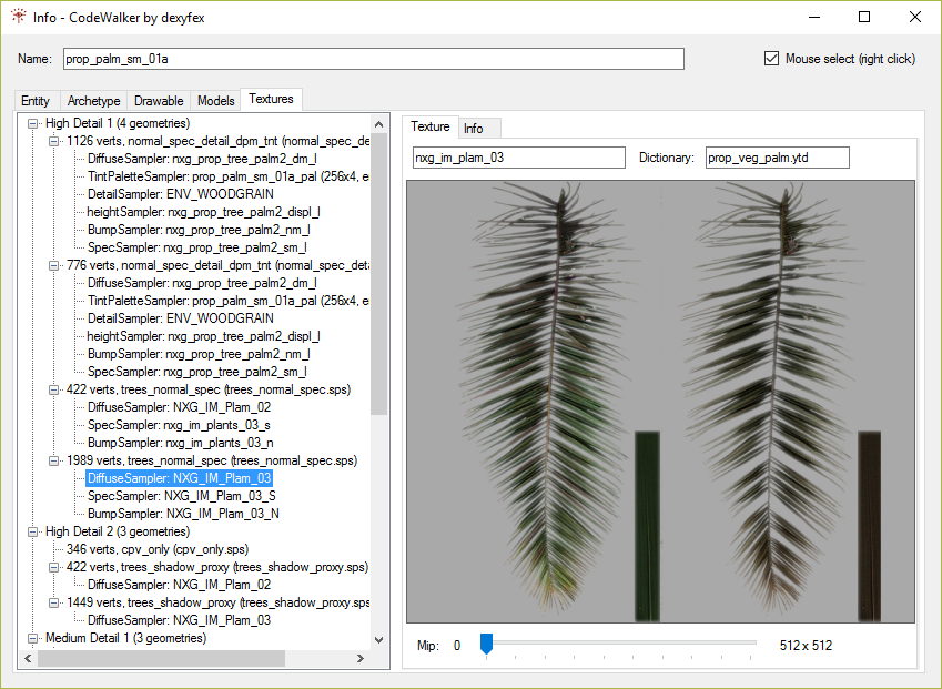 CodeWalker Texture Viewer