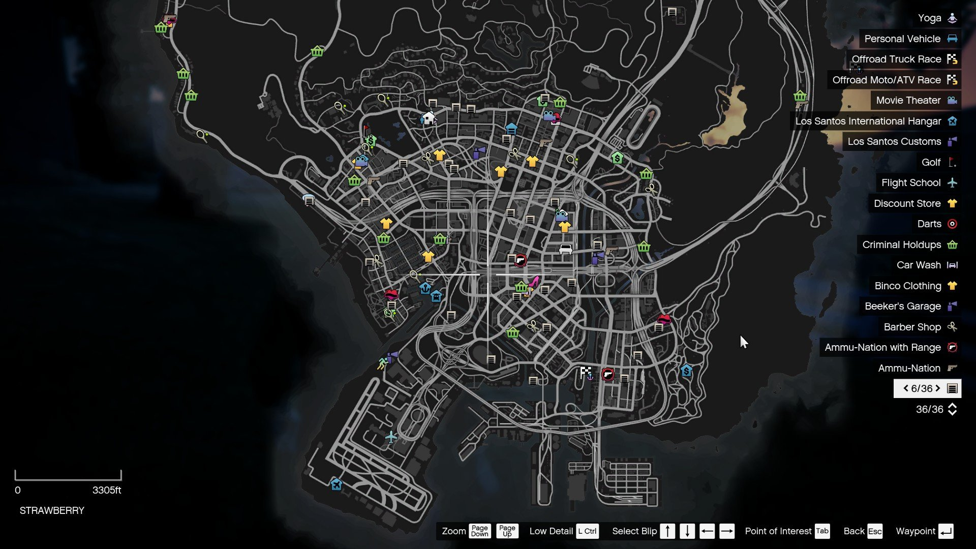 Colored Map Blips Gta5 Mods Com