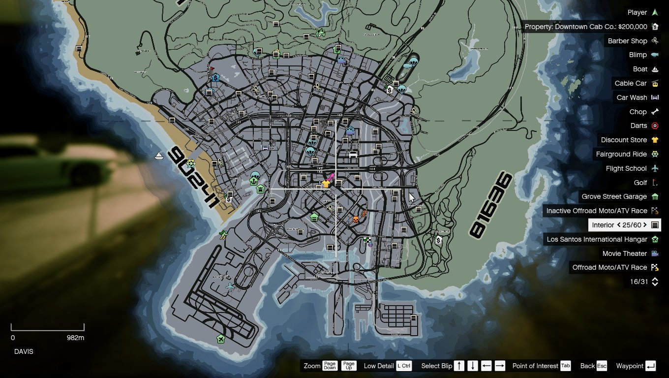Realistic Street Location Address Atlas Map Gta5 Mods Com