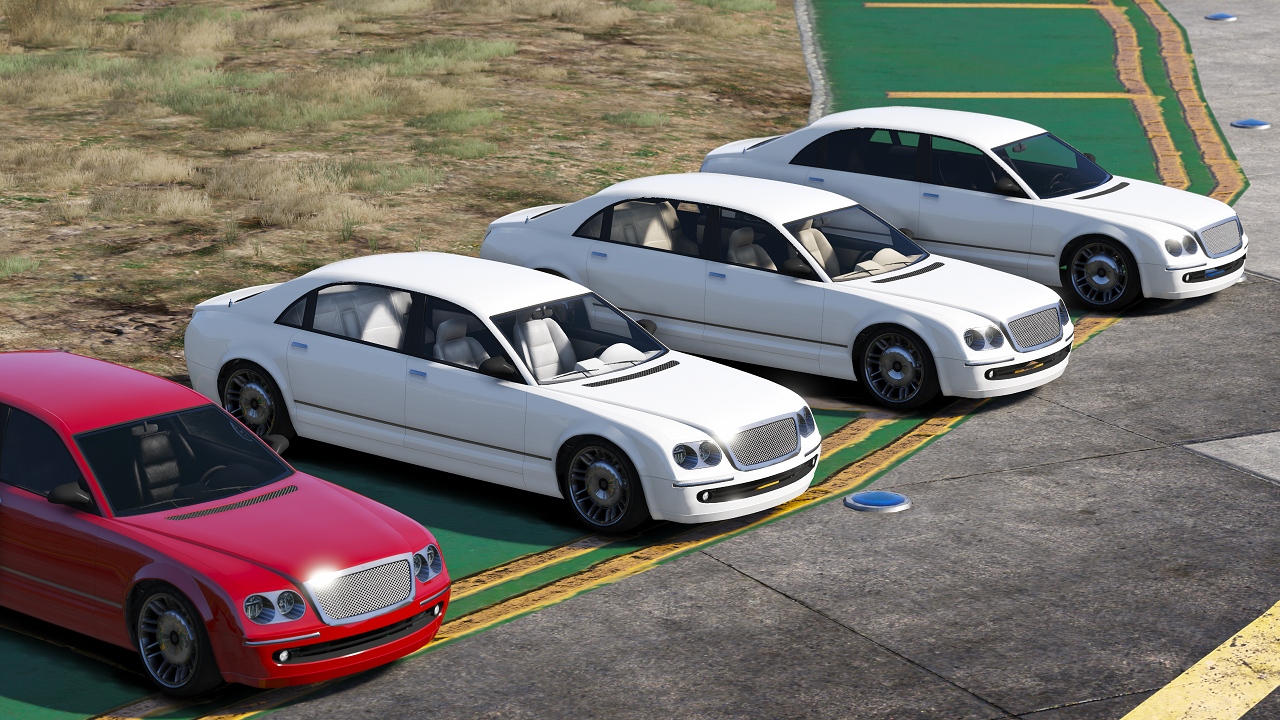 Colour Variations For Executives DLC Luxury Cars