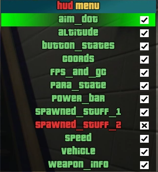 how to use mod menu