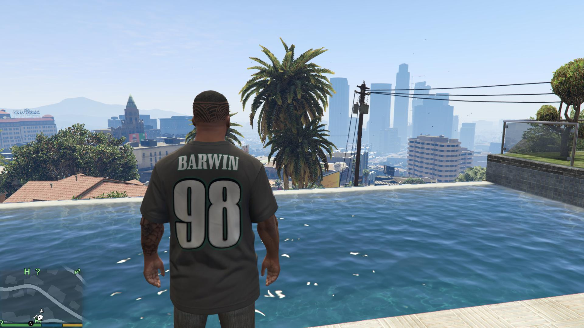 2d7734305cd Connor Barwin Shirsey/Jersey - Philadelphia Eagles - GTA5-Mods.com