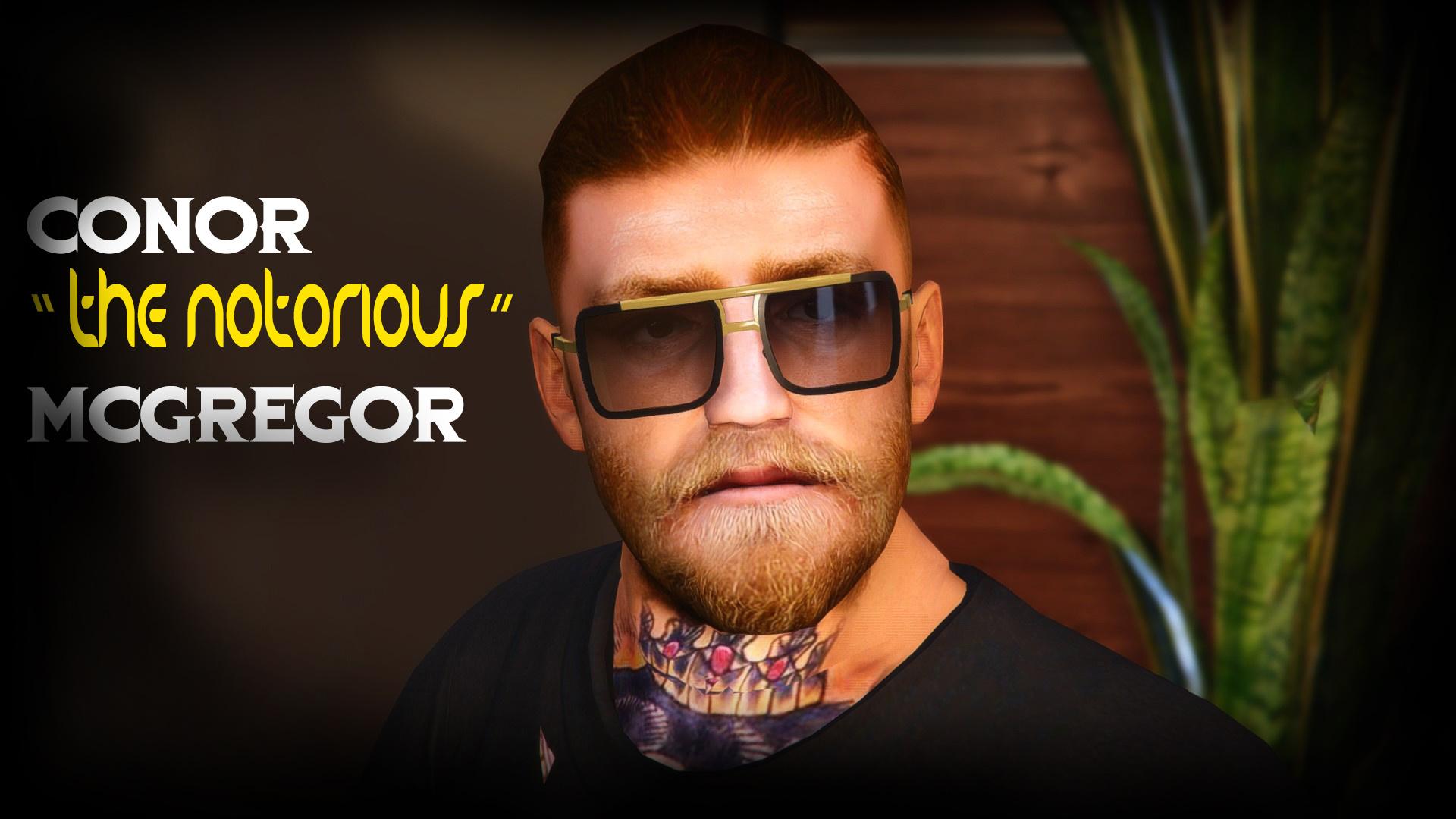 """Conor McGregor """"The Notorious"""" UFC - GTA5-Mods.com"""