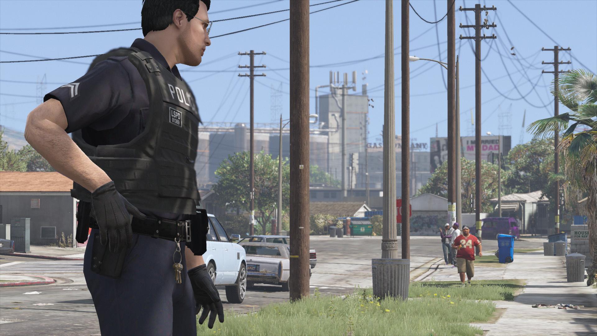 Cop Holster - GTA5-Mods com