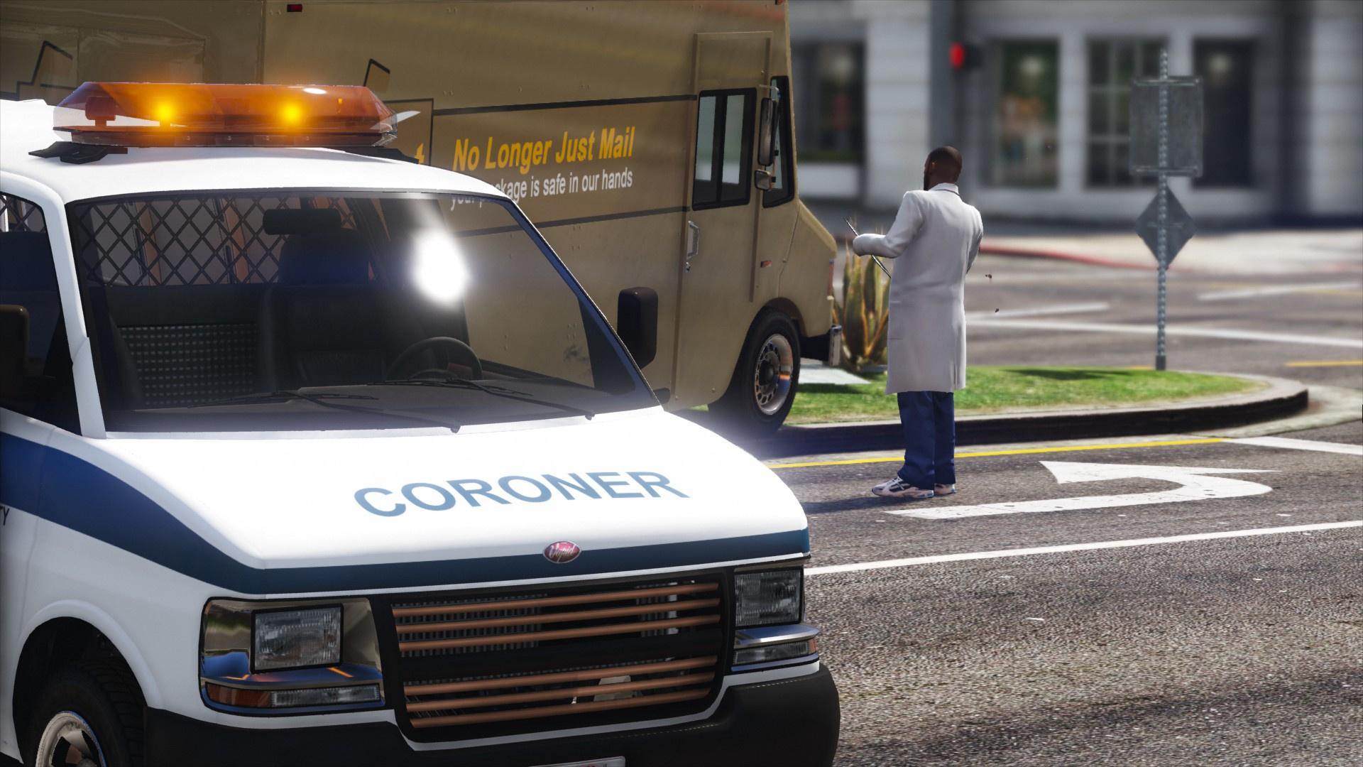 Coroner Service - GTA5-Mods com