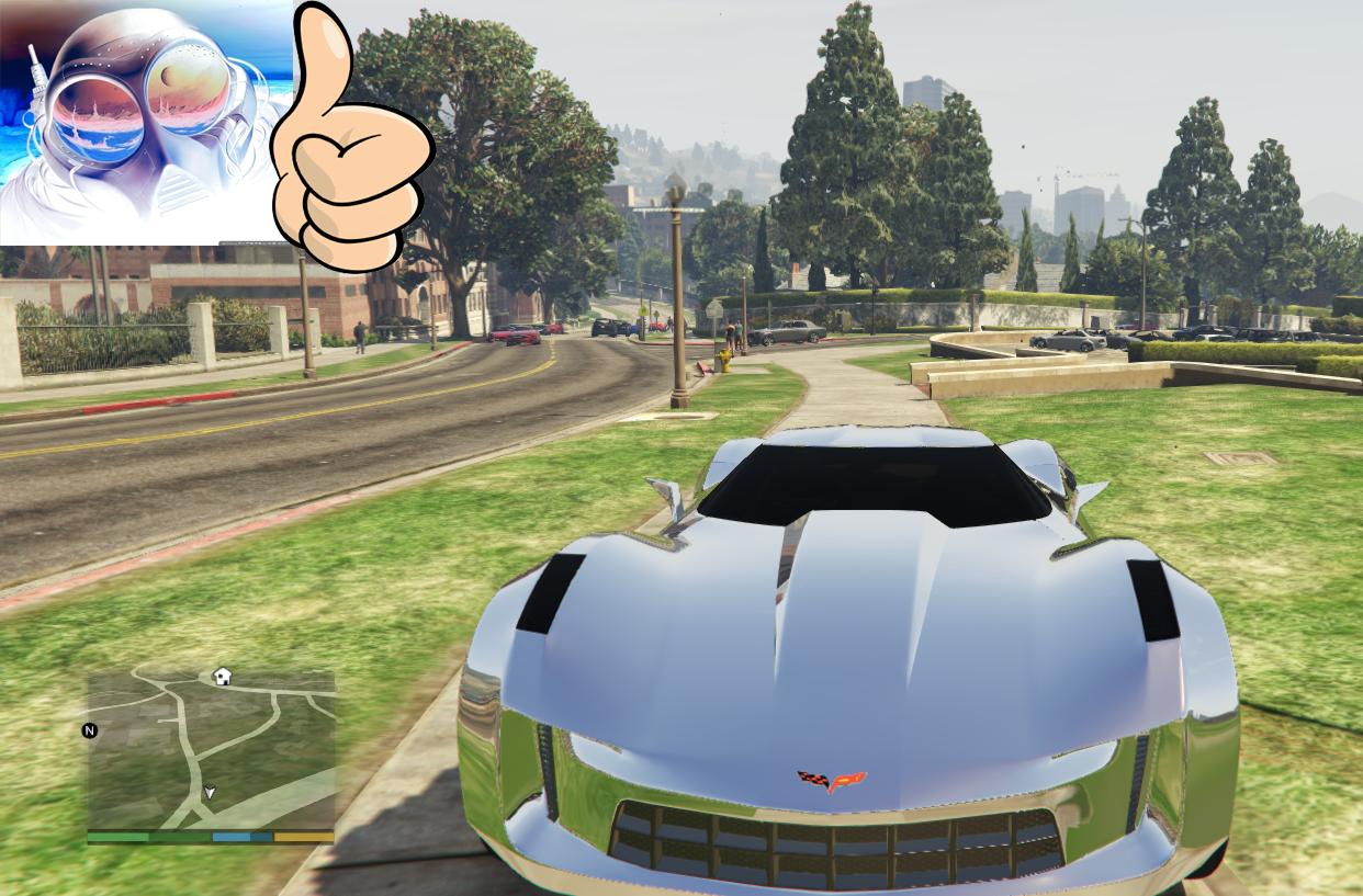 Corvette Stingray Concept [Addon/Interior Paint] - GTA5 ...