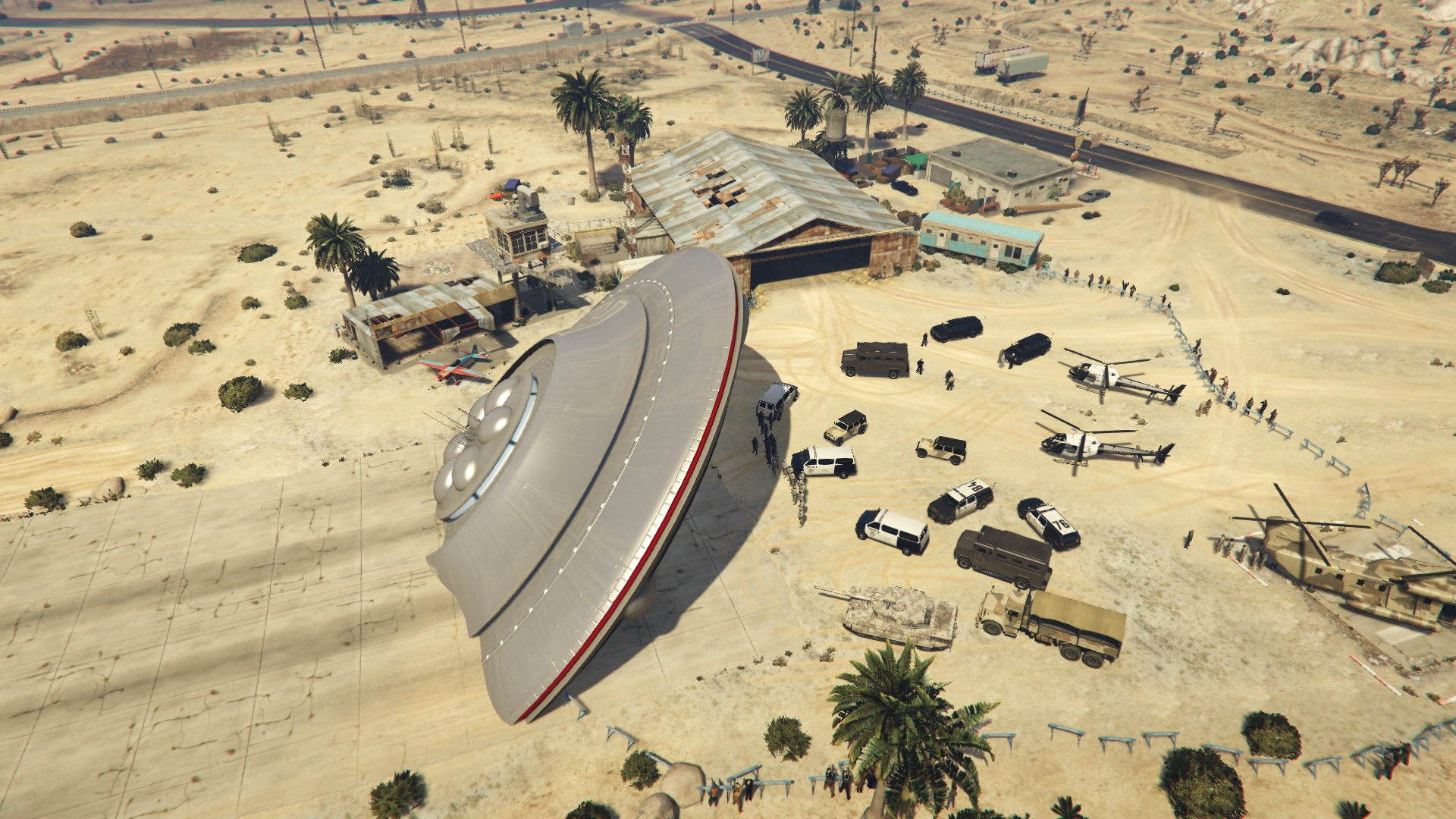 Crashed UFO Scene - GTA5-Mods.com