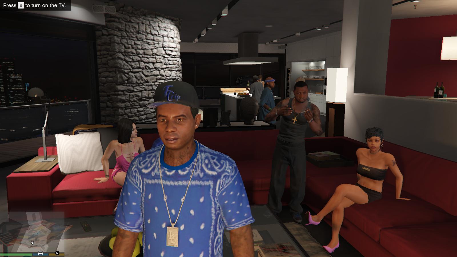 Crip Gang Lamar - GTA5-Mods com