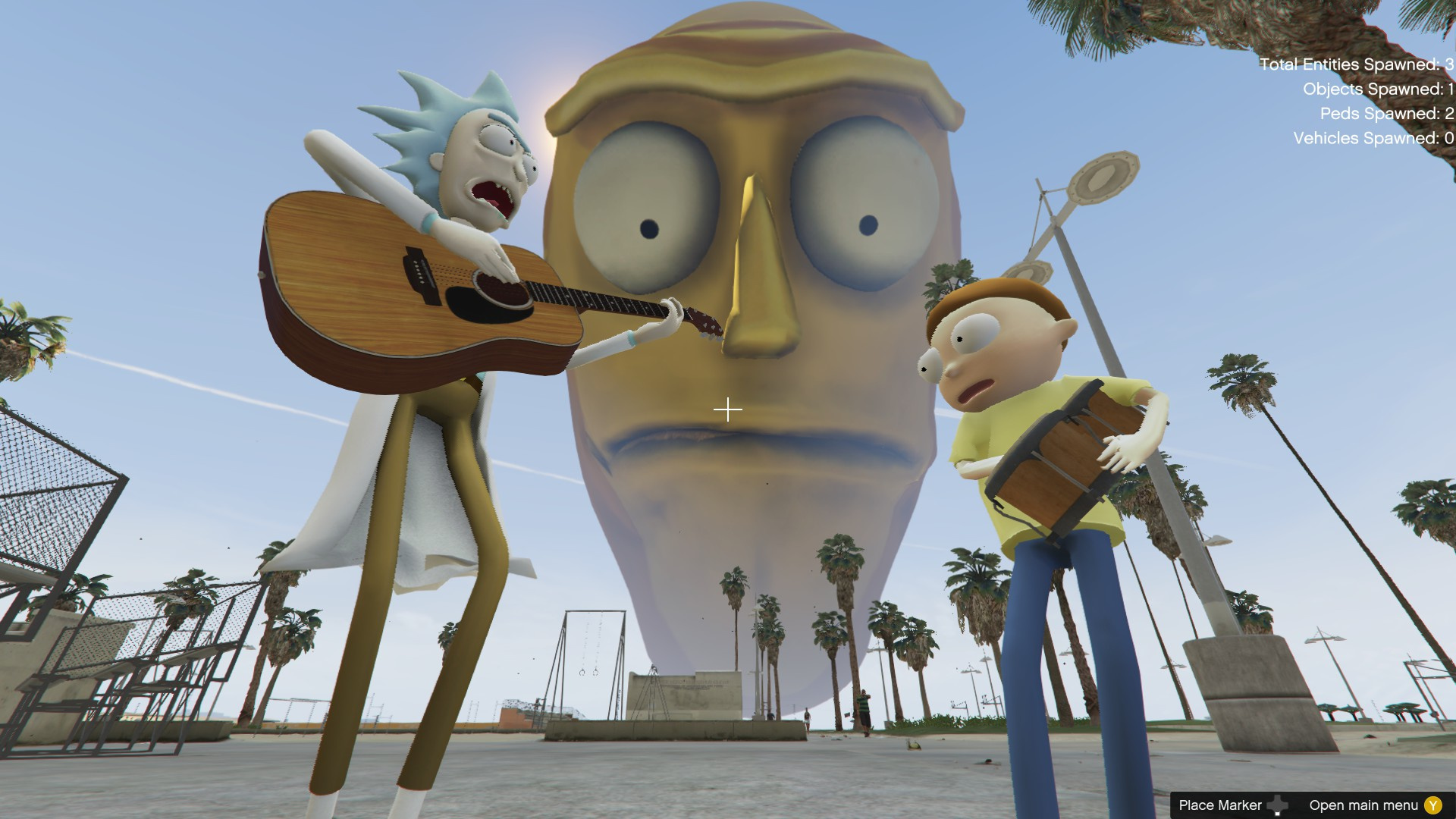 Cromulon Rick and Morty GTA5 Mods