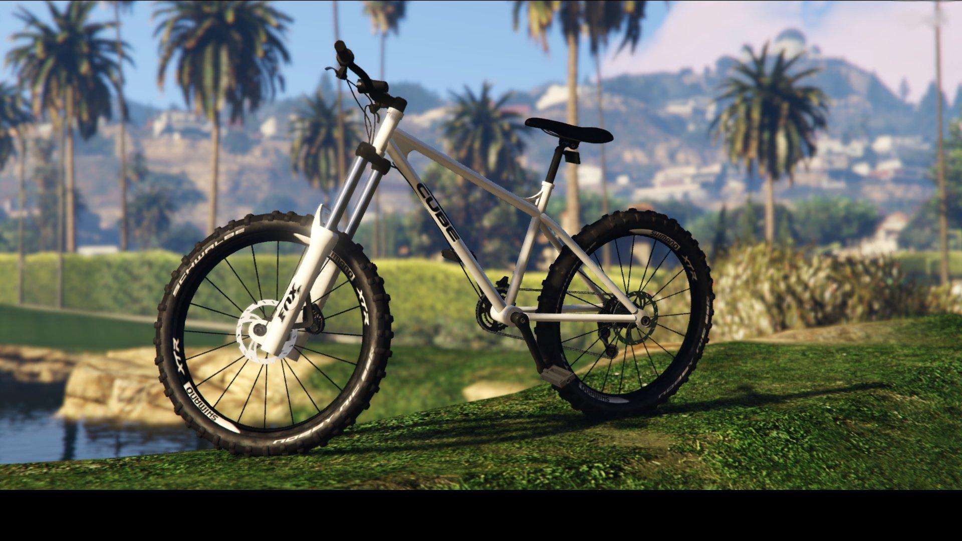 Cube Mountain Bike Texture Hq