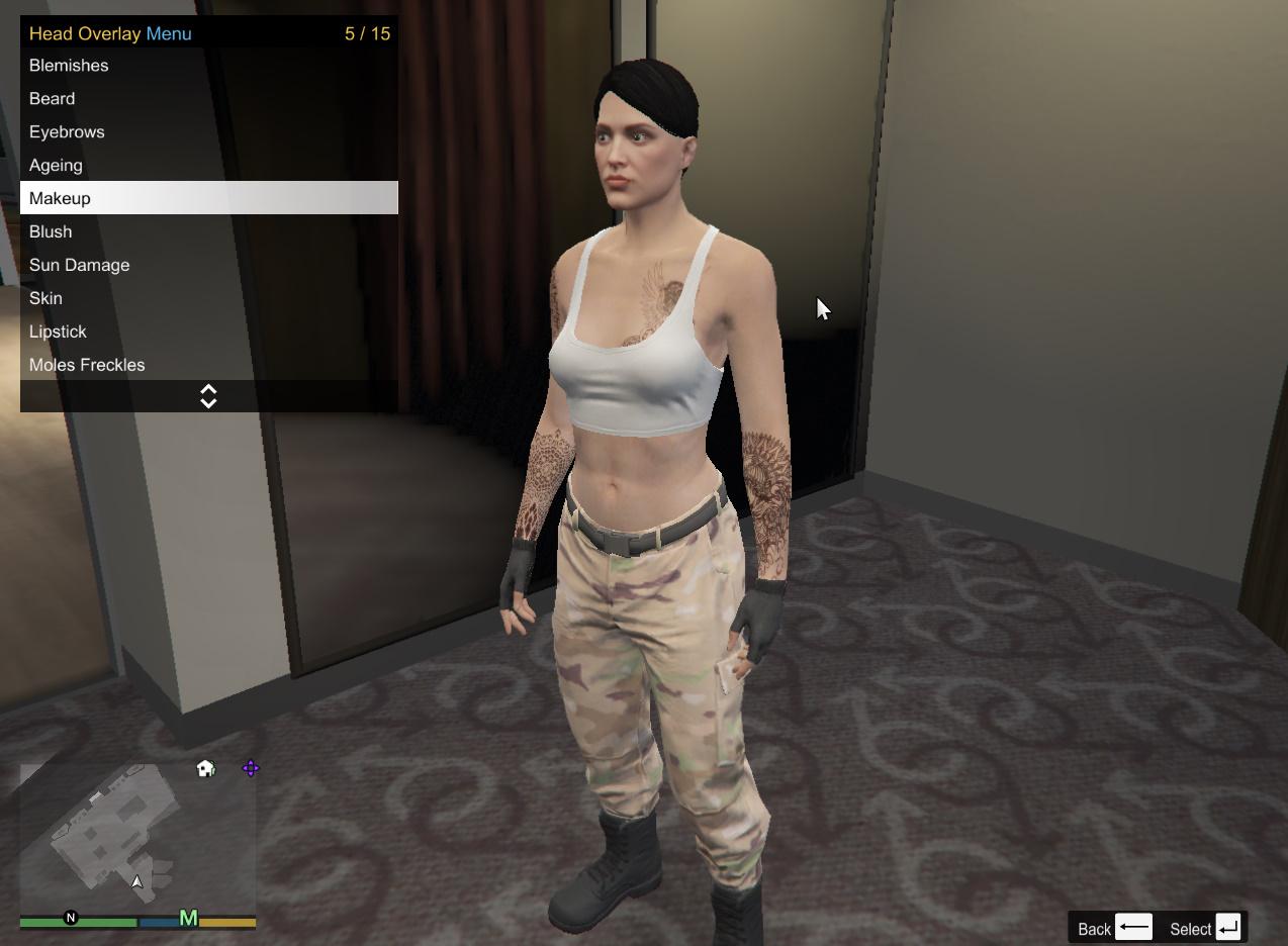 gta 5 character customization mod