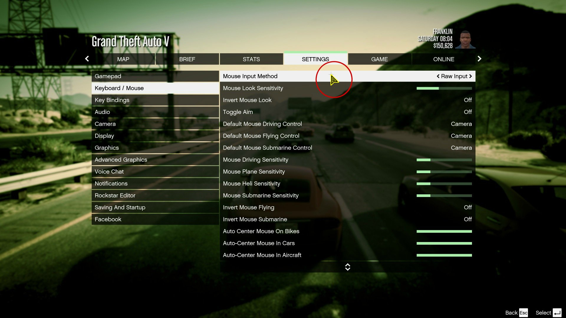 Custom In-Game Mouse Cursors - GTA5-Mods com
