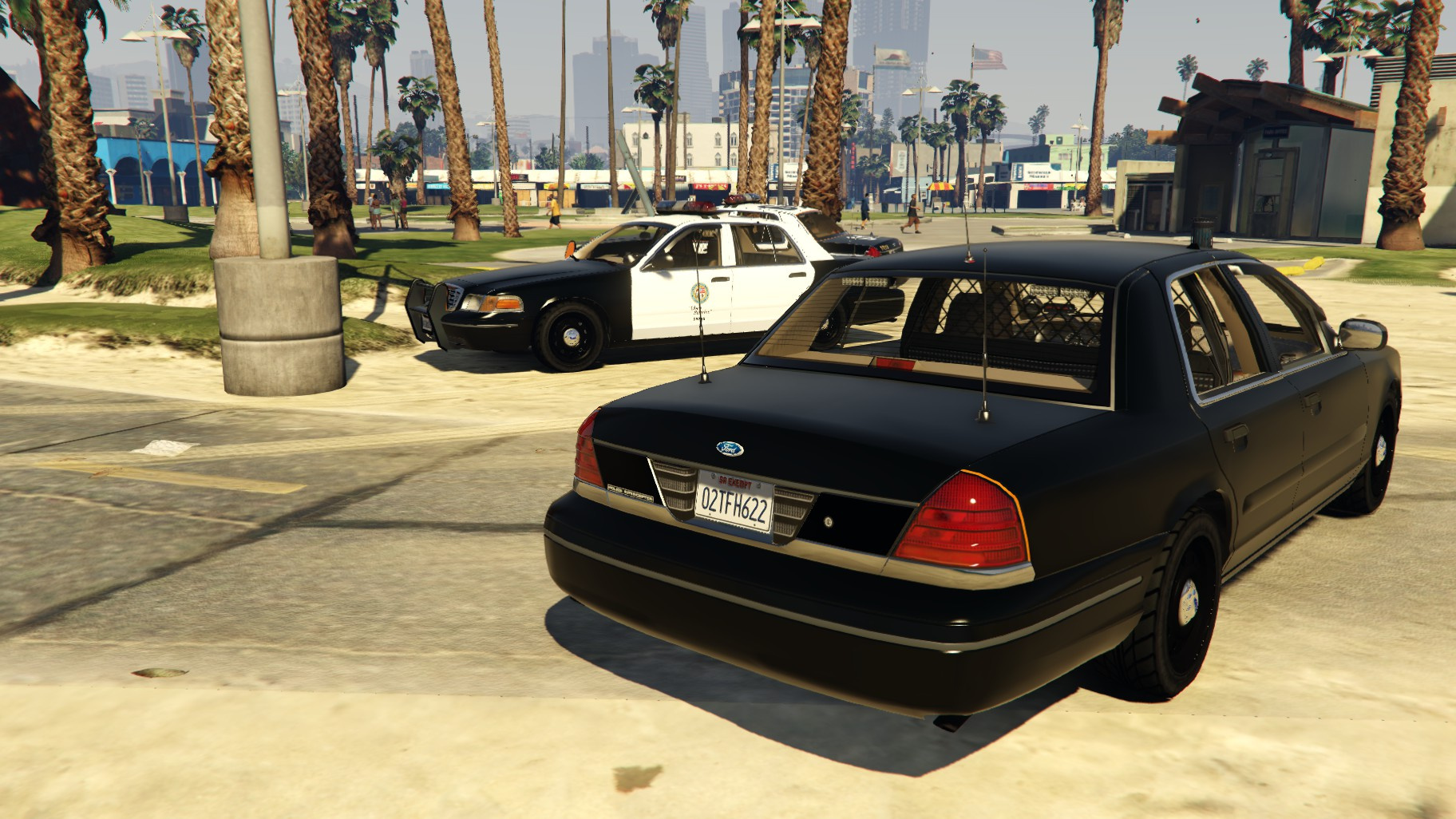 Unmarked police car gta 5 - Lspd Hd And Unmarked Liveries For 1999 Cvpi