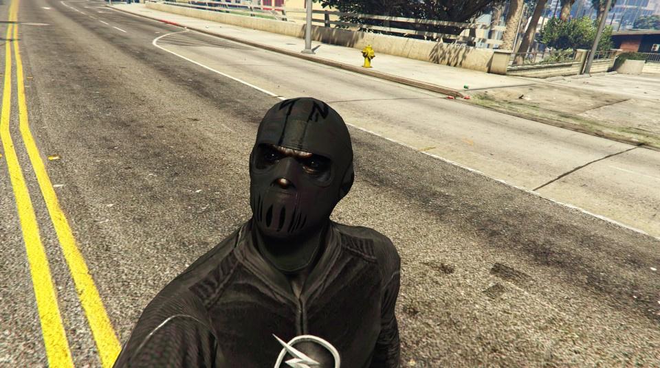 CW\u0027s ZOOM\u0027s mask (The Flash series) , GTA5,Mods.com