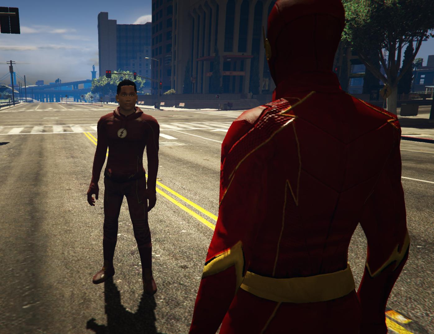 CW Wally West - GTA5-Mods com