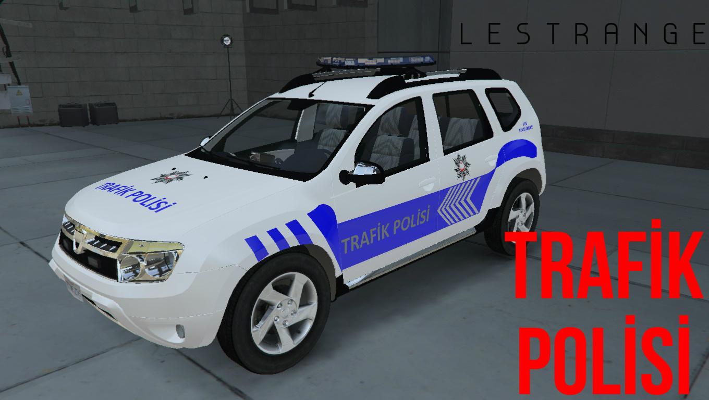 Dacia Duster Turk Trafik Polisi Arabasi L 2017 Gta5 Mods Com