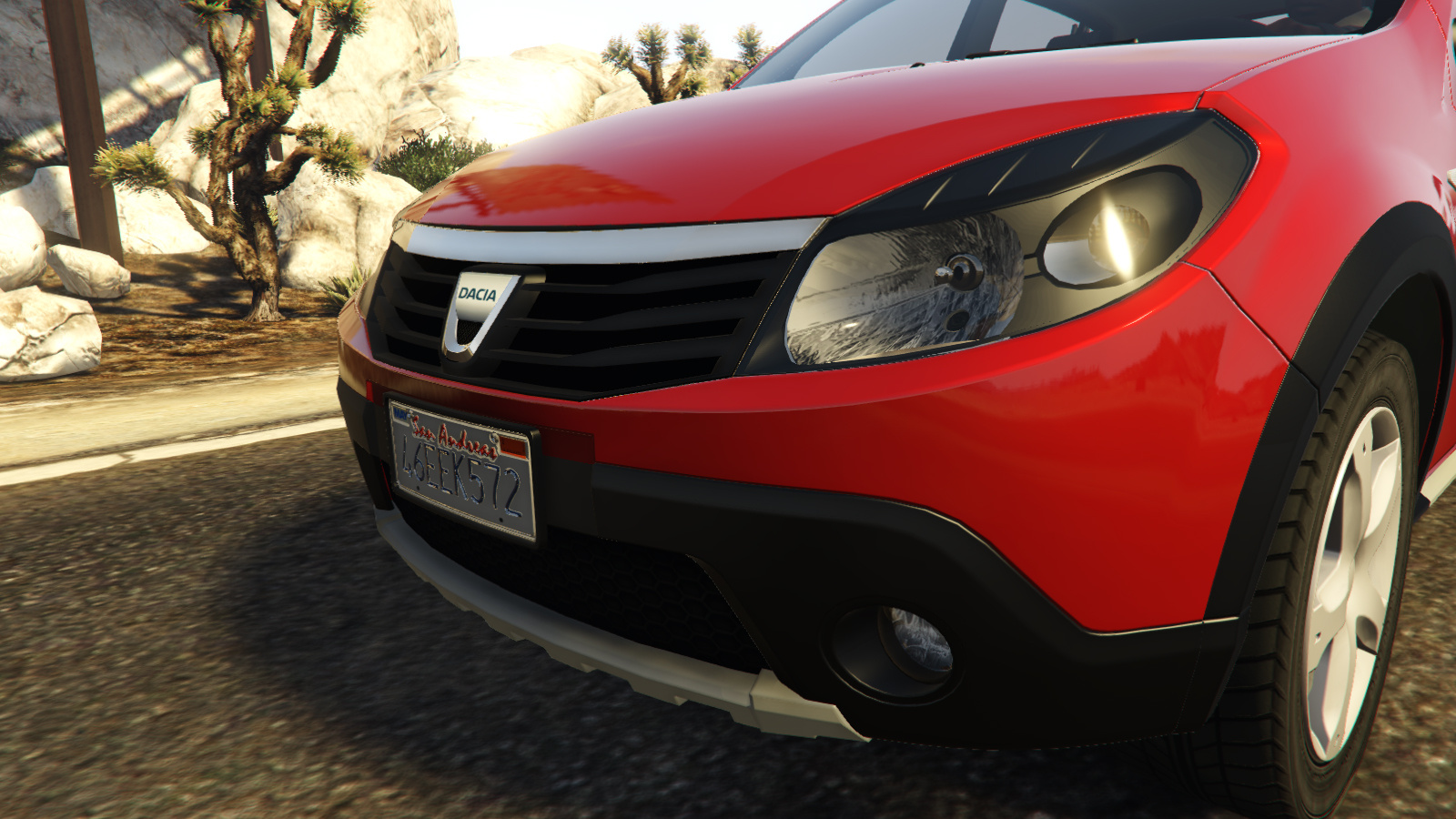dacia sandero stepway 2008 gta5. Black Bedroom Furniture Sets. Home Design Ideas